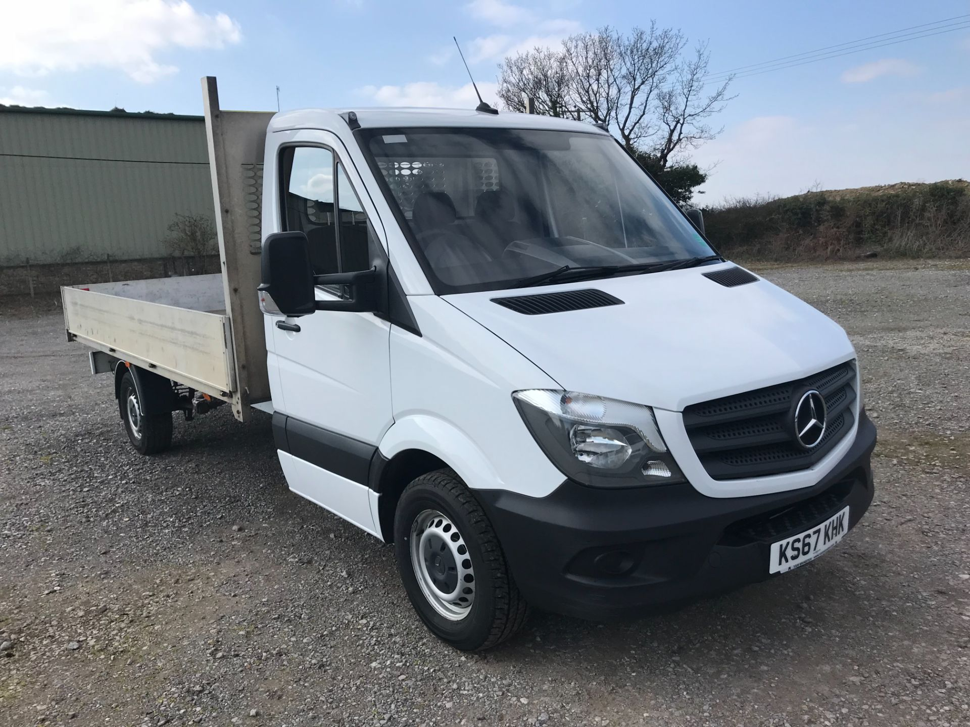 2018 Mercedes-Benz Sprinter 314 LWB DROP SIDE EURO 6 (KS67KHK) Image 1