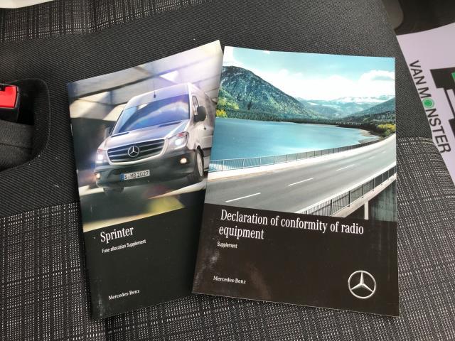2017 Mercedes-Benz Sprinter 314CDI MWB HIGH ROOF BLUE EFFICIENCY 140PS EURO 6 (KS67KKH) Image 31