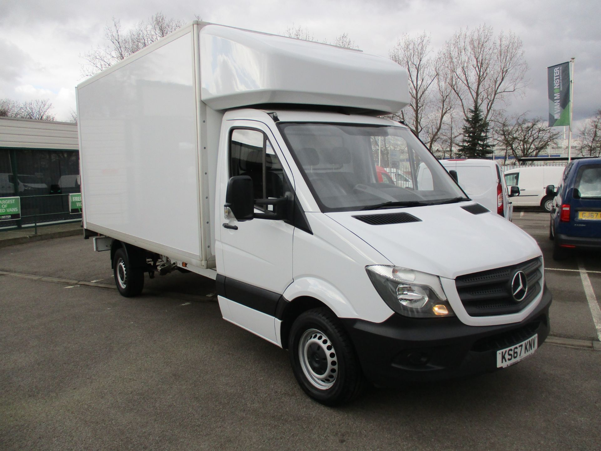 2018 Mercedes-Benz Sprinter 314 LUTON TAIL LIFT EURO 6 (KS67KNV)
