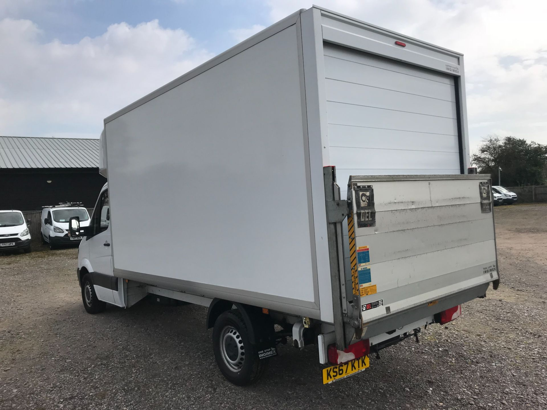 2017 Mercedes-Benz Sprinter 314 LWB LUTON EURO 6 With Tail Lift (KS67KTK) Image 4