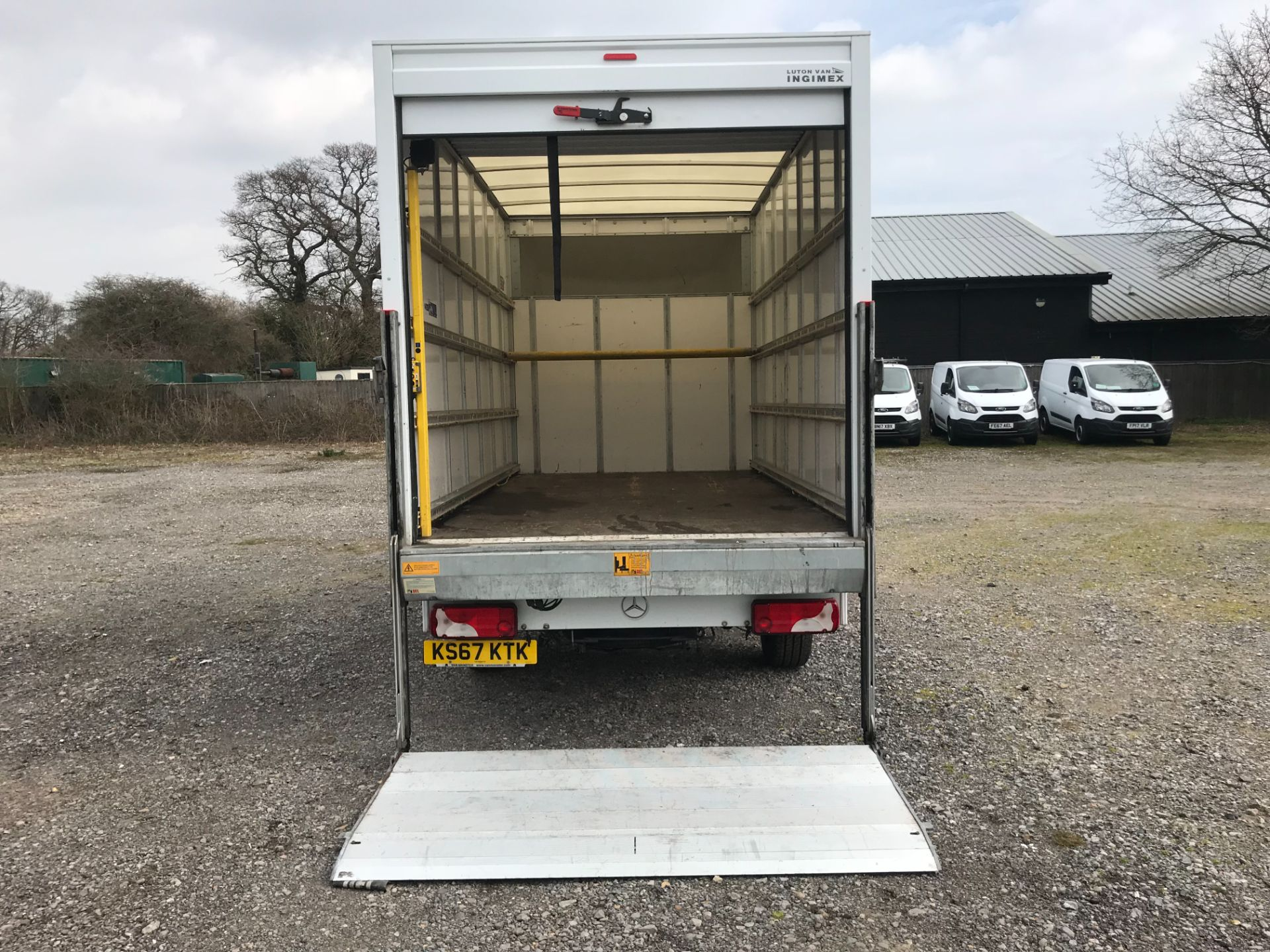 2017 Mercedes-Benz Sprinter 314 LWB LUTON EURO 6 With Tail Lift (KS67KTK) Image 9