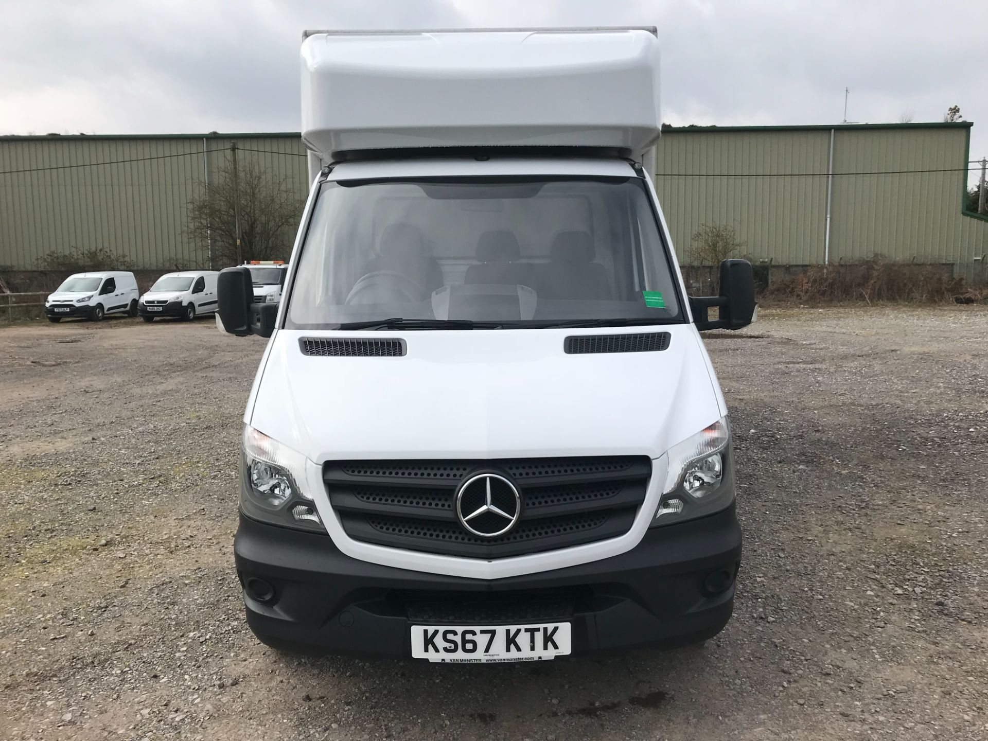 2017 Mercedes-Benz Sprinter 314 LWB LUTON EURO 6 With Tail Lift (KS67KTK) Image 2