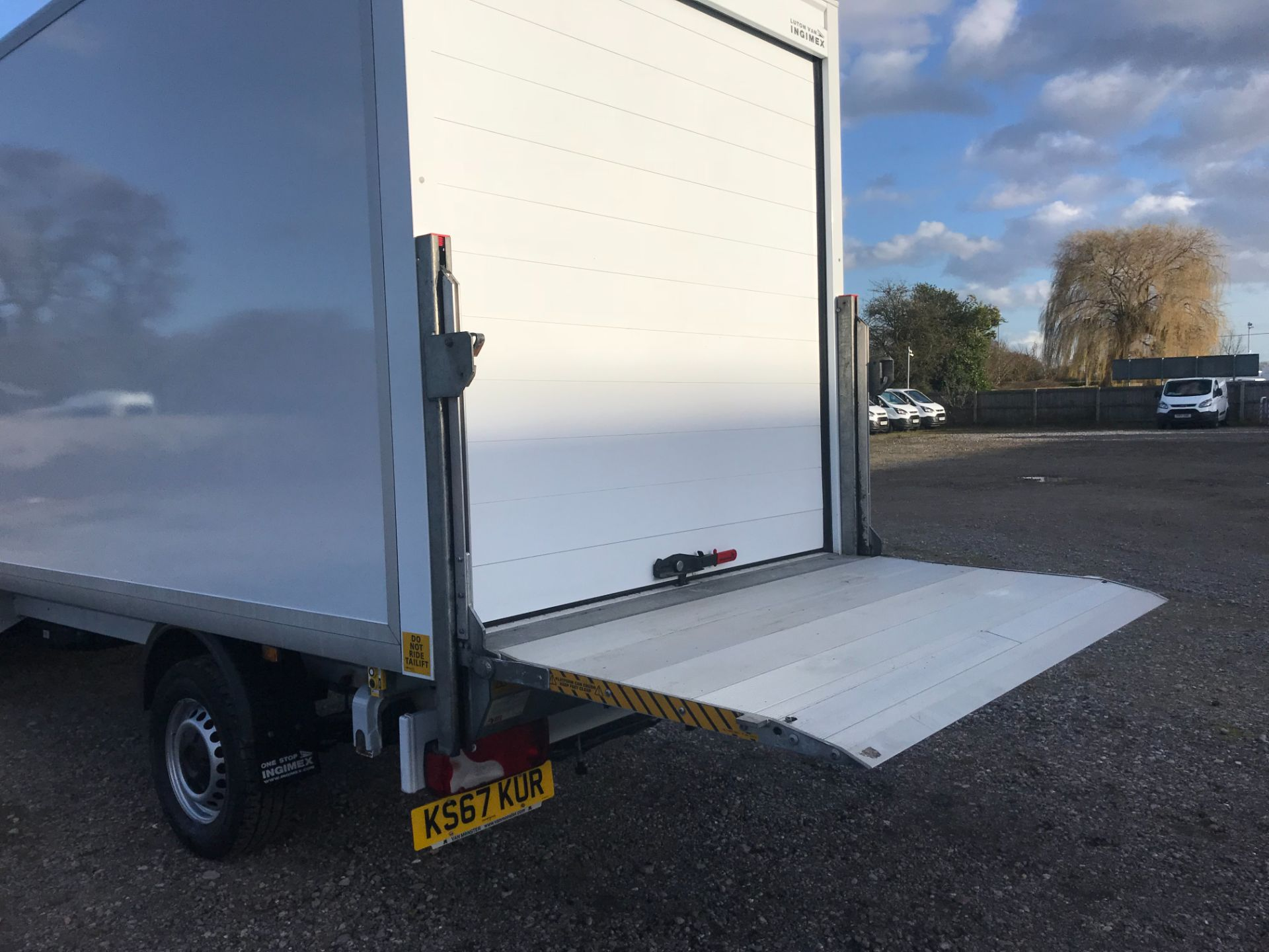 2018 Mercedes-Benz Sprinter 314 LWB LUTON EURO 6 With Tail Lift (KS67KUR) Thumbnail 34
