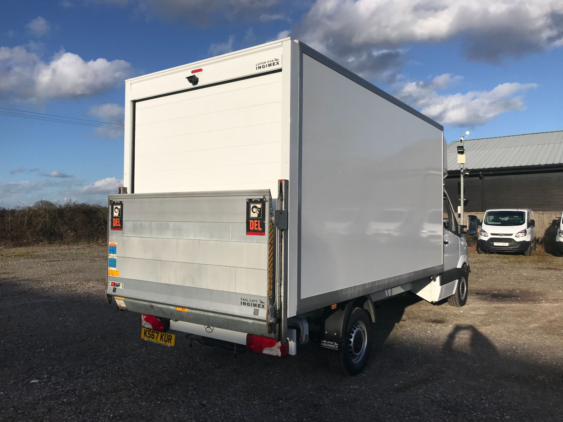 2018 Mercedes-Benz Sprinter 314 LWB LUTON EURO 6 With Tail Lift (KS67KUR) Image 4