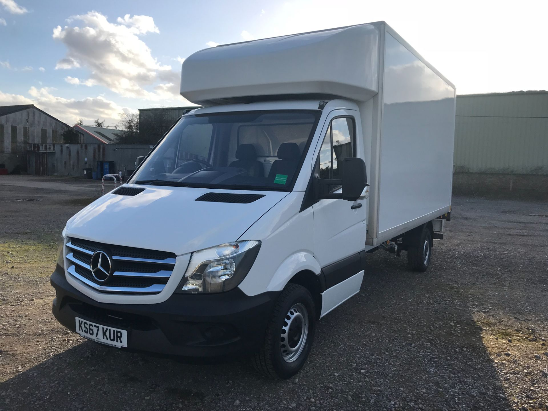 2018 Mercedes-Benz Sprinter 314 LWB LUTON EURO 6 With Tail Lift (KS67KUR) Image 3
