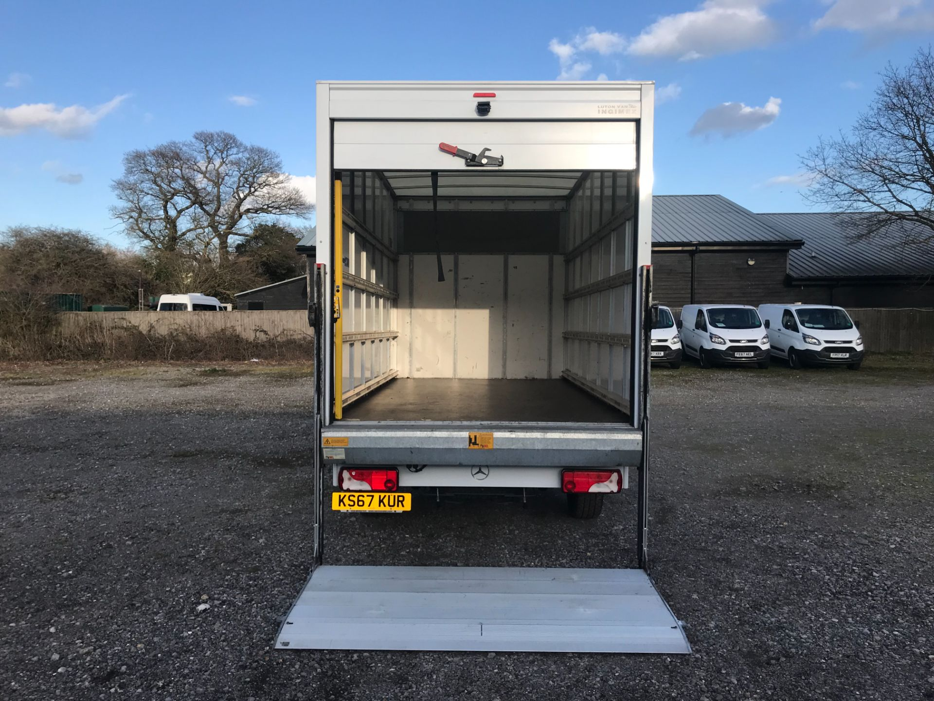 2018 Mercedes-Benz Sprinter 314 LWB LUTON EURO 6 With Tail Lift (KS67KUR) Thumbnail 35
