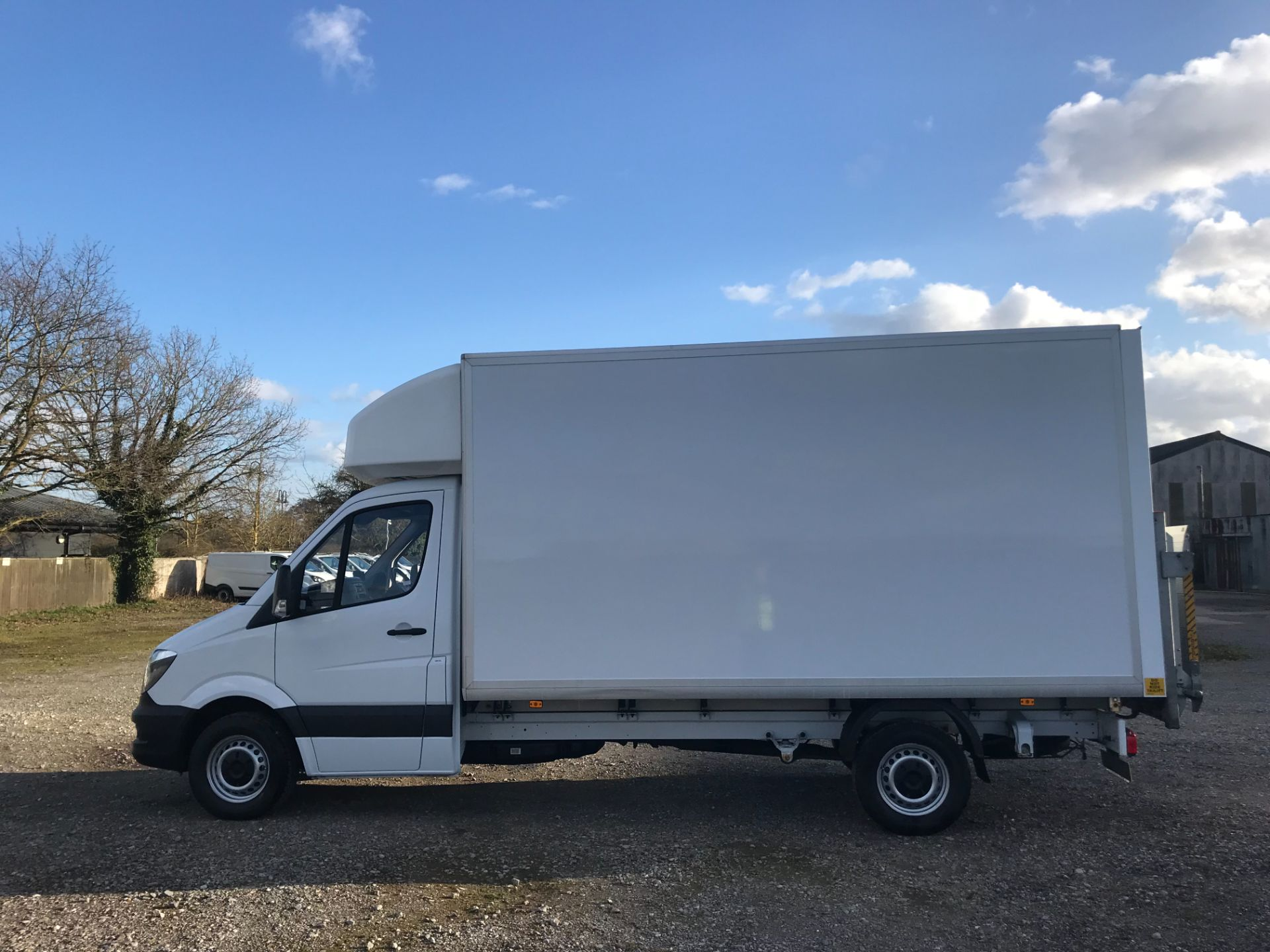 2018 Mercedes-Benz Sprinter 314 LWB LUTON EURO 6 With Tail Lift (KS67KUR) Thumbnail 8