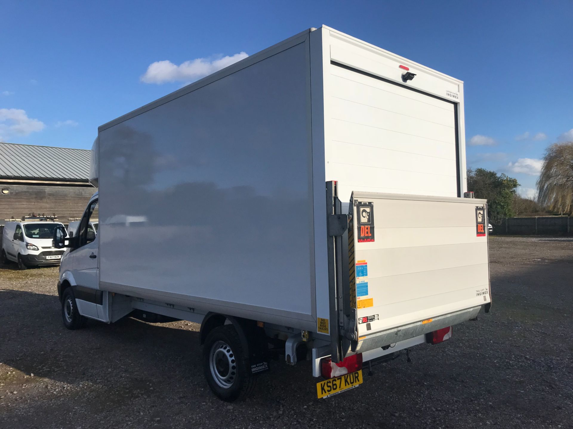 2018 Mercedes-Benz Sprinter 314 LWB LUTON EURO 6 With Tail Lift (KS67KUR) Image 6