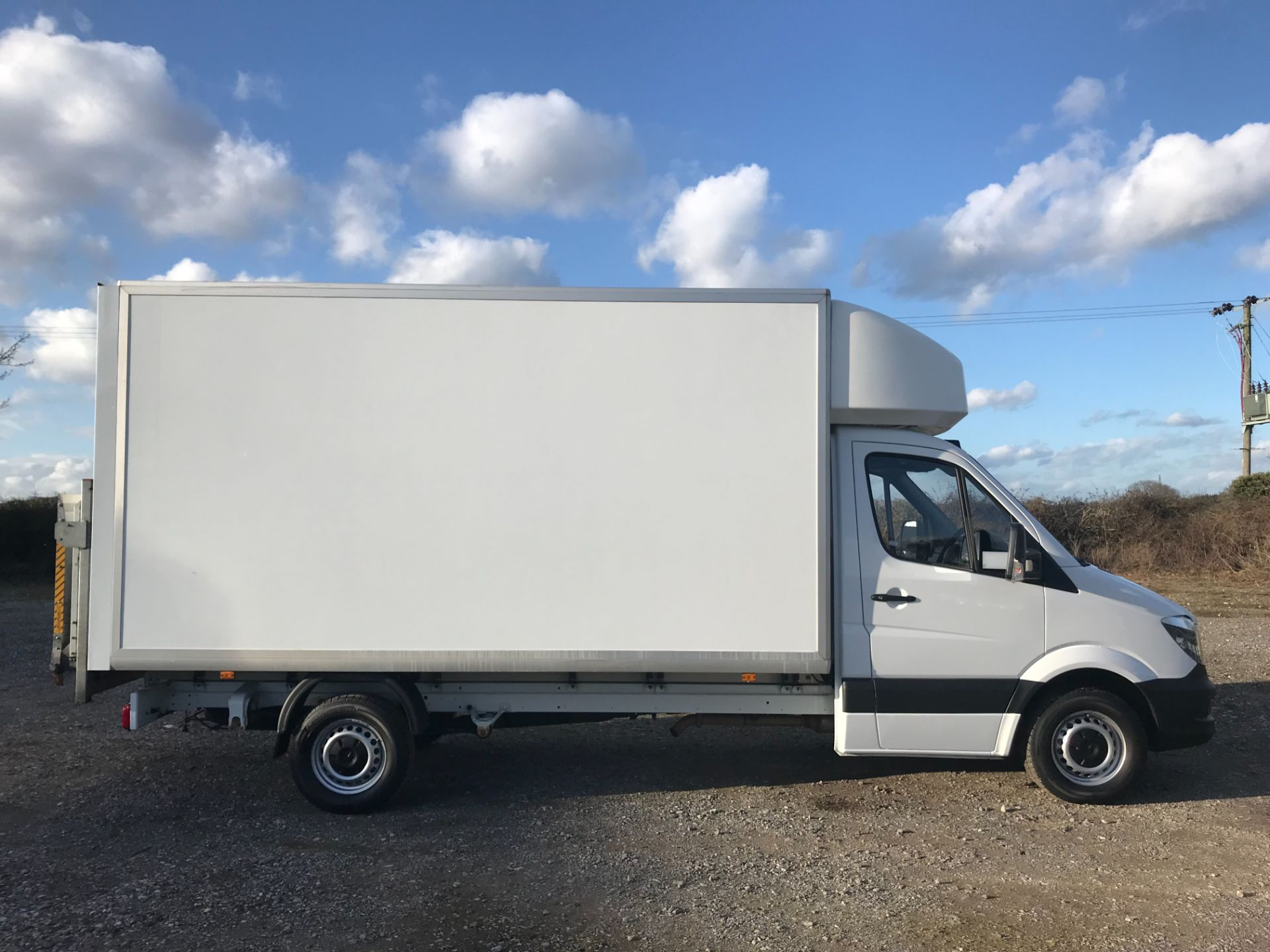 2018 Mercedes-Benz Sprinter 314 LWB LUTON EURO 6 With Tail Lift (KS67KUR) Image 7