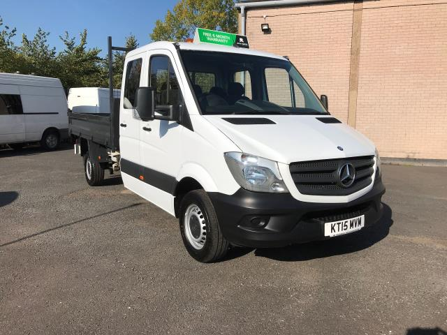 2015 Mercedes-Benz Sprinter 313CDI DOUBLE CAB TIPPER 130PS EURO 5 (KT15MVM)