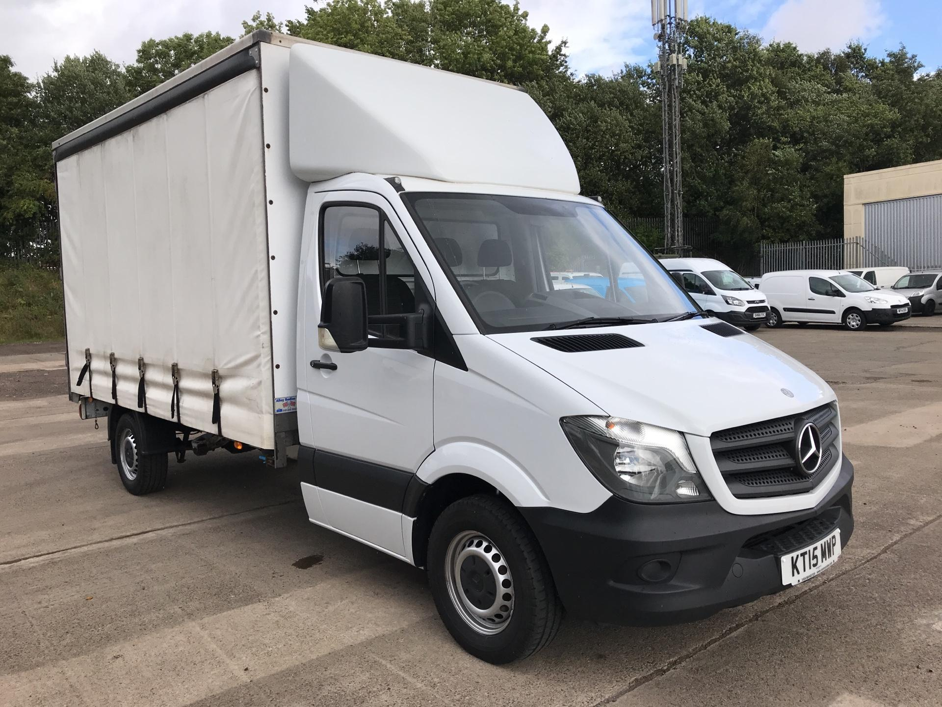 2015 Mercedes-Benz Sprinter 313 LWB LONG LUTON CURTAINSIDER EURO 5 (KT15MWP)