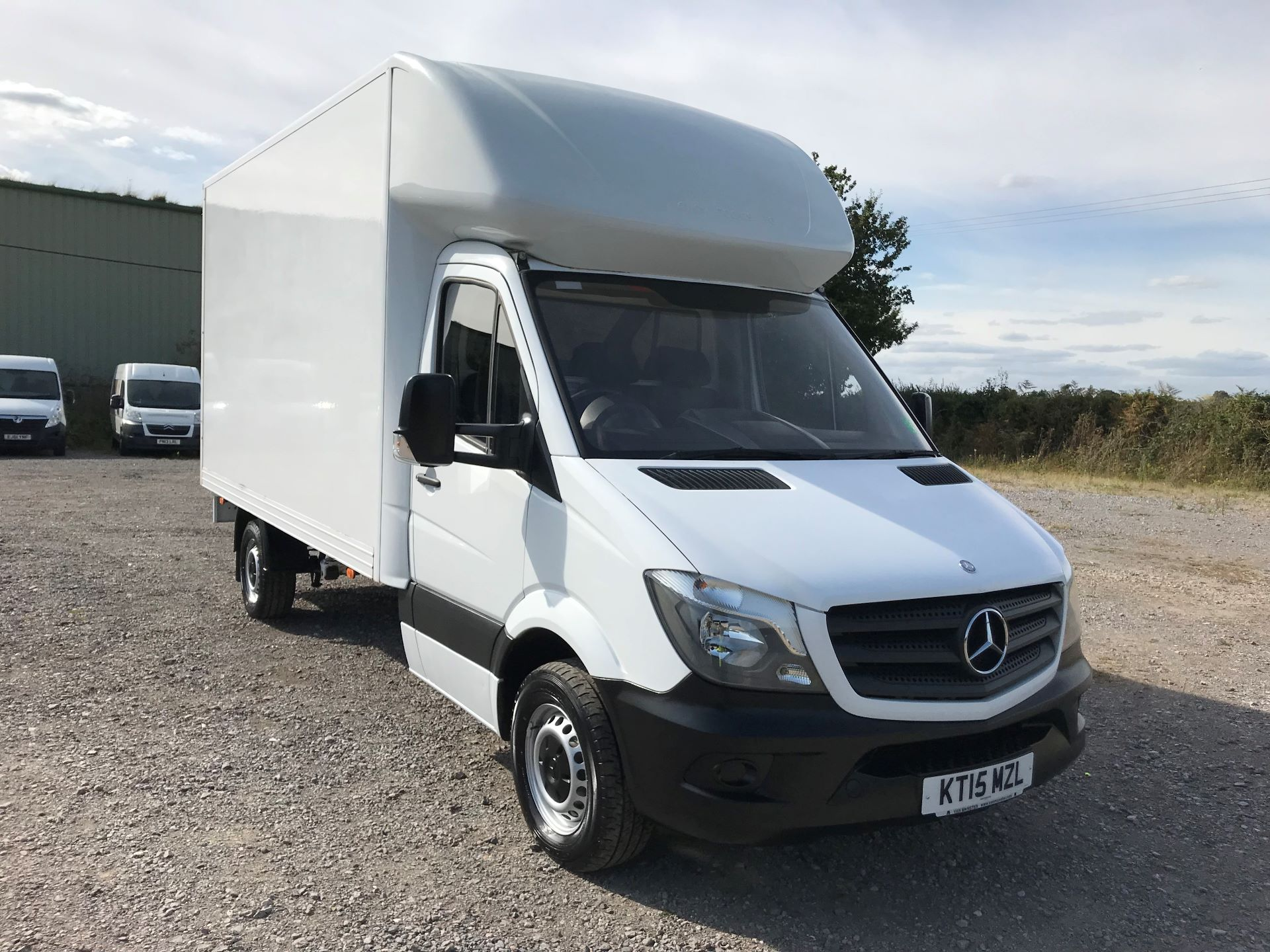 2015 Mercedes-Benz Sprinter 313 LWB LONG LUTON EURO 5 (KT15MZL)