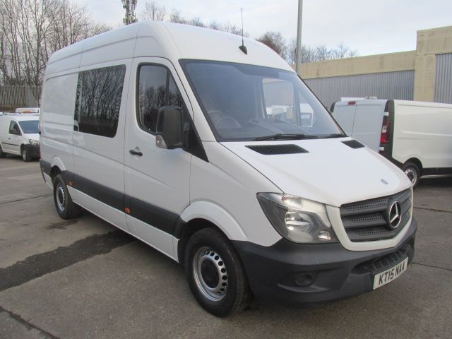 2015 Mercedes-Benz Sprinter 313 Cdi MWB High Roof Crew Van (KT15NAA)