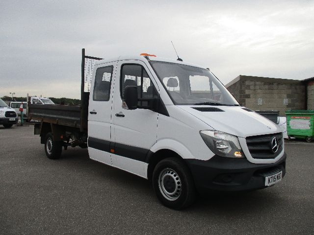 2015 Mercedes-Benz Sprinter 313 CDI LONG CREW CAB TIPPER EURO 5 (KT15NBD)