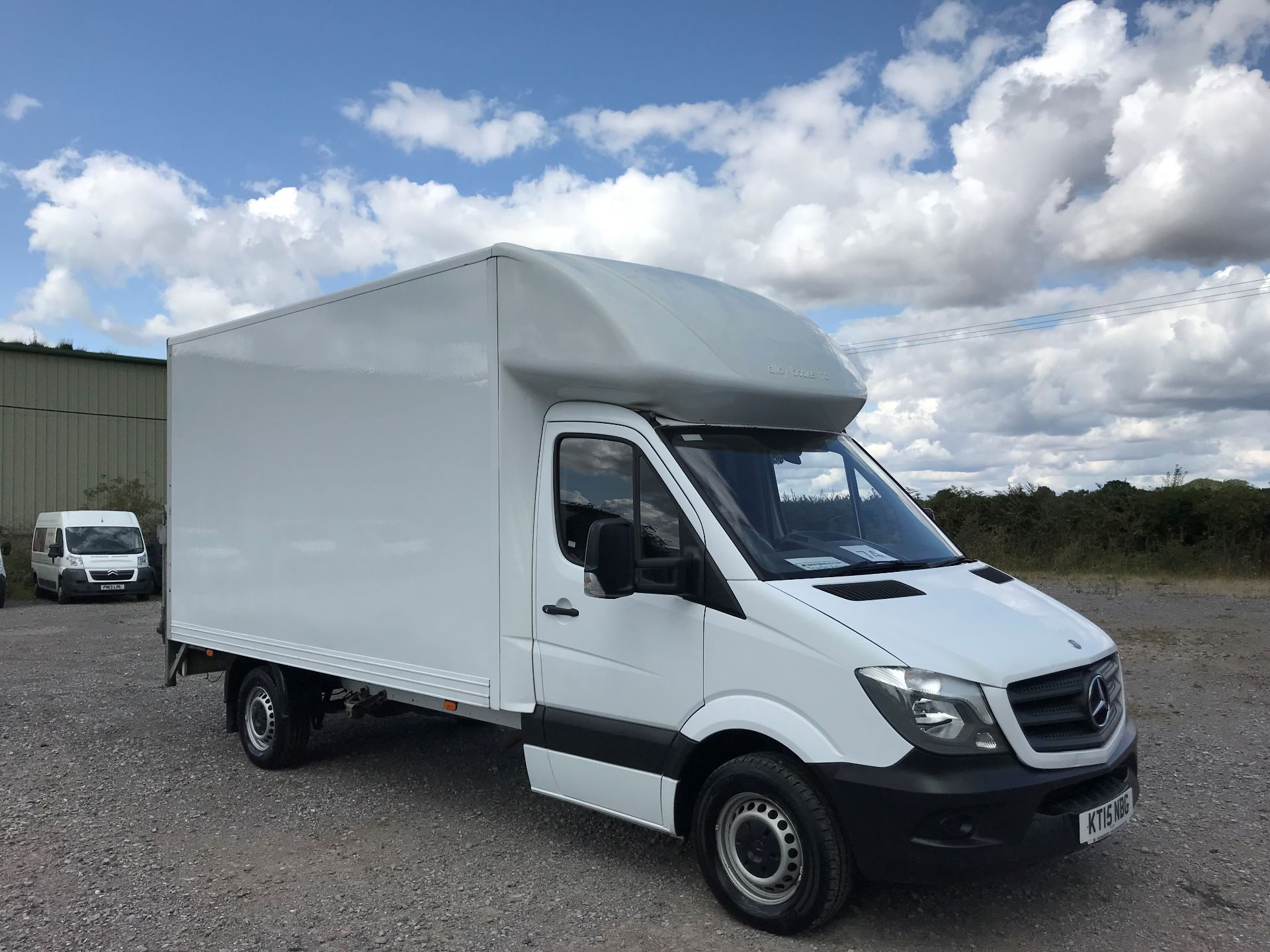 2015 Mercedes-Benz Sprinter 313 LWB LONG LUTON WITH TAIL LIFT EURO 5  (KT15NBG)