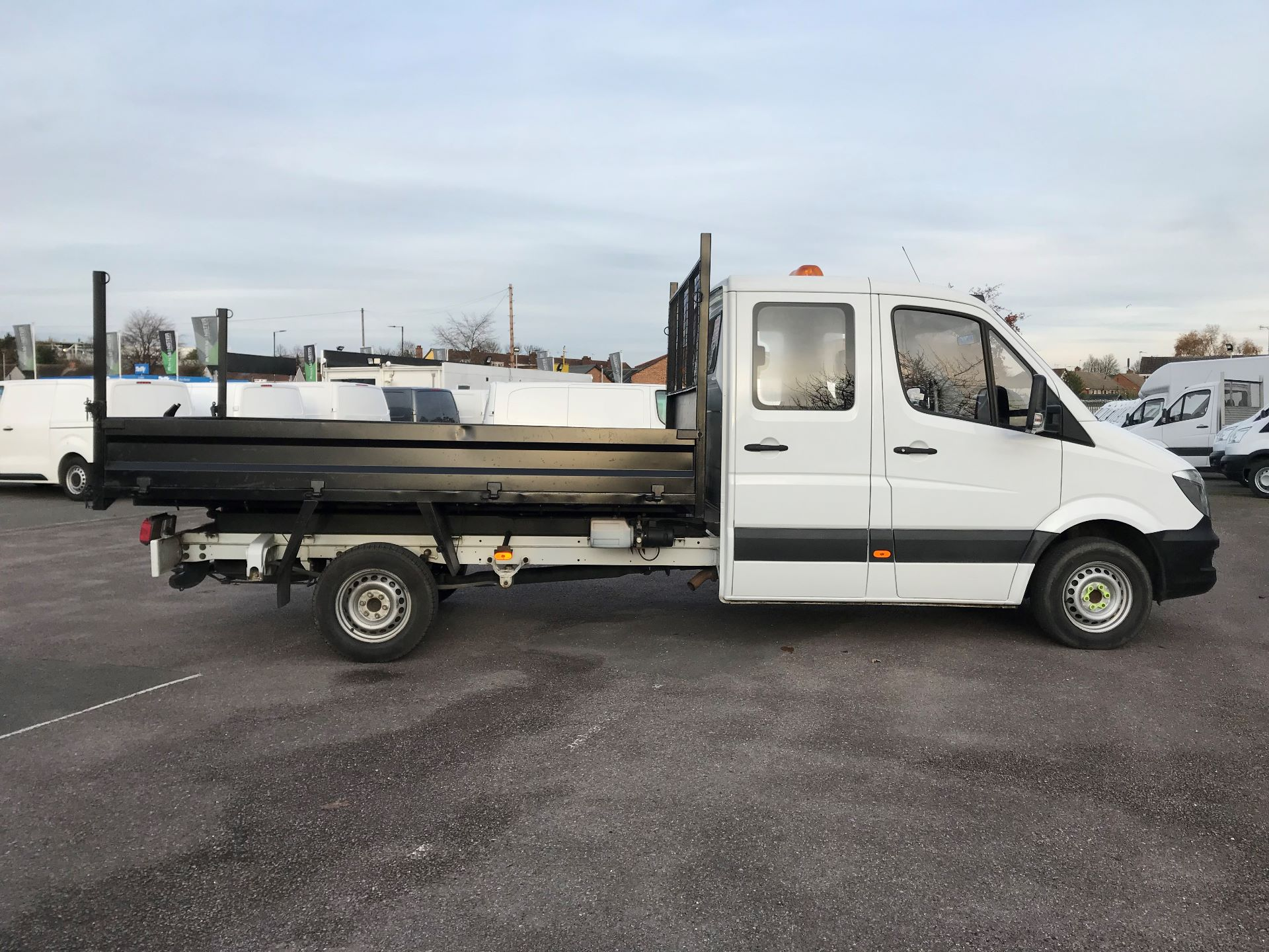 2015 Mercedes-Benz Sprinter  313 LONG CREW CAB TIPPER EURO 5 (KT15NEN) Image 8
