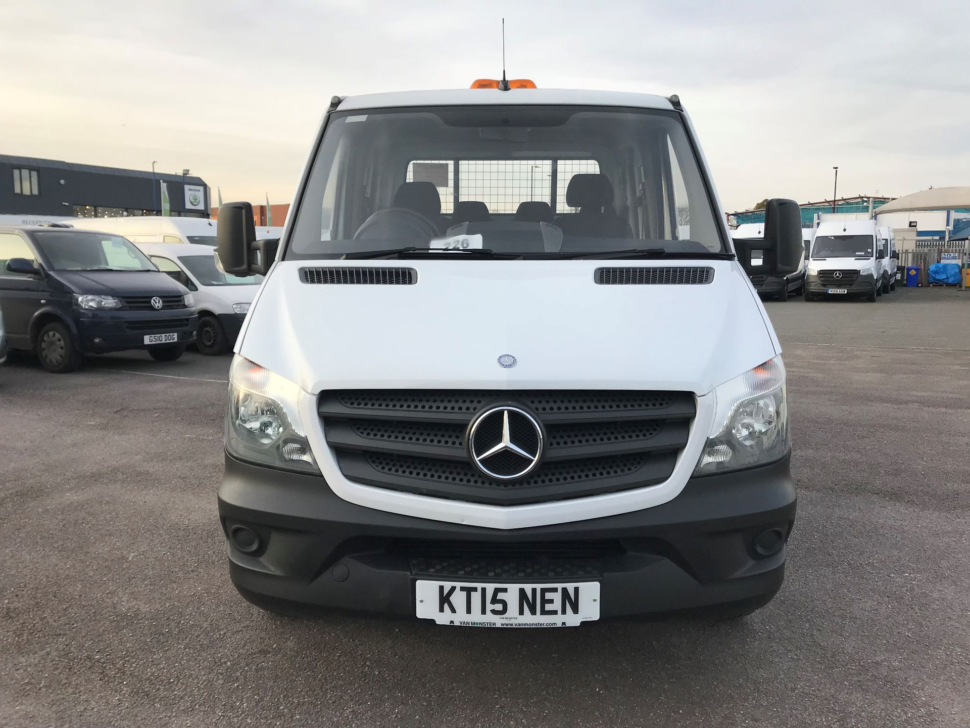 2015 Mercedes-Benz Sprinter  313 LONG CREW CAB TIPPER EURO 5 (KT15NEN) Image 3