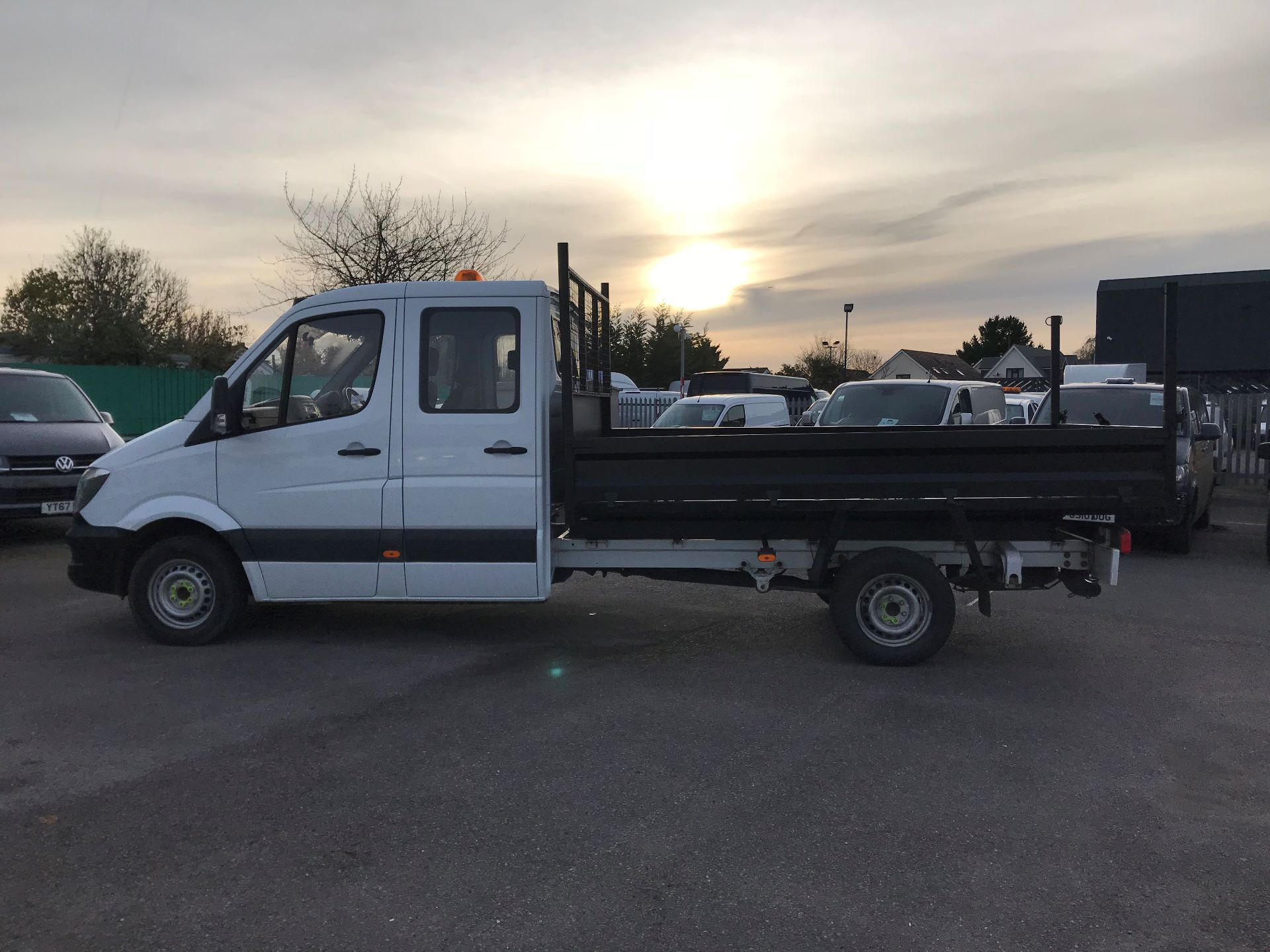 2015 Mercedes-Benz Sprinter  313 LONG CREW CAB TIPPER EURO 5 (KT15NEN) Image 9
