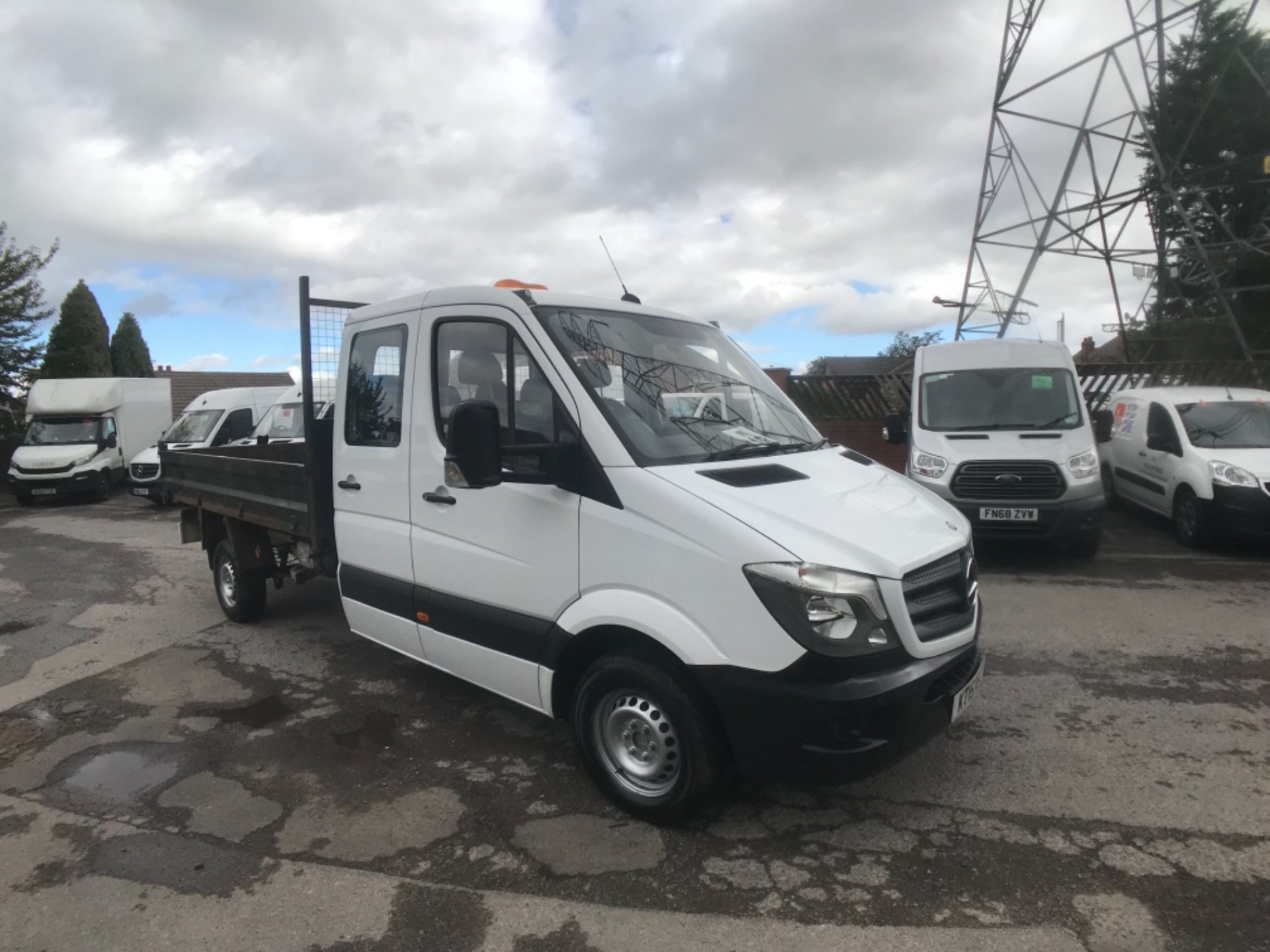 2015 Mercedes-Benz Sprinter LONG CREW CAB TIPPER EURO 5  (KT15NFJ)