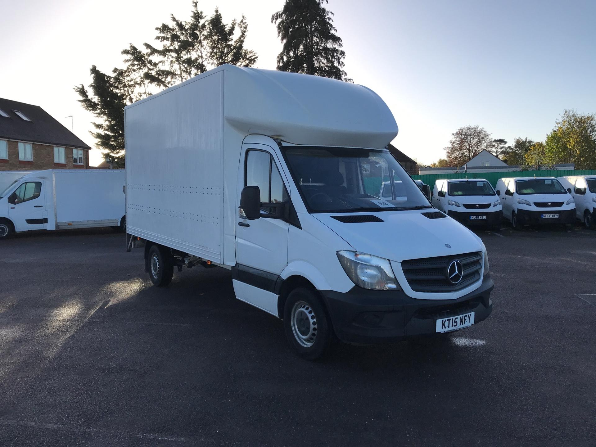 2015 Mercedes-Benz Sprinter  313 LWB LONG LUTON EURO 5 (KT15NFY)