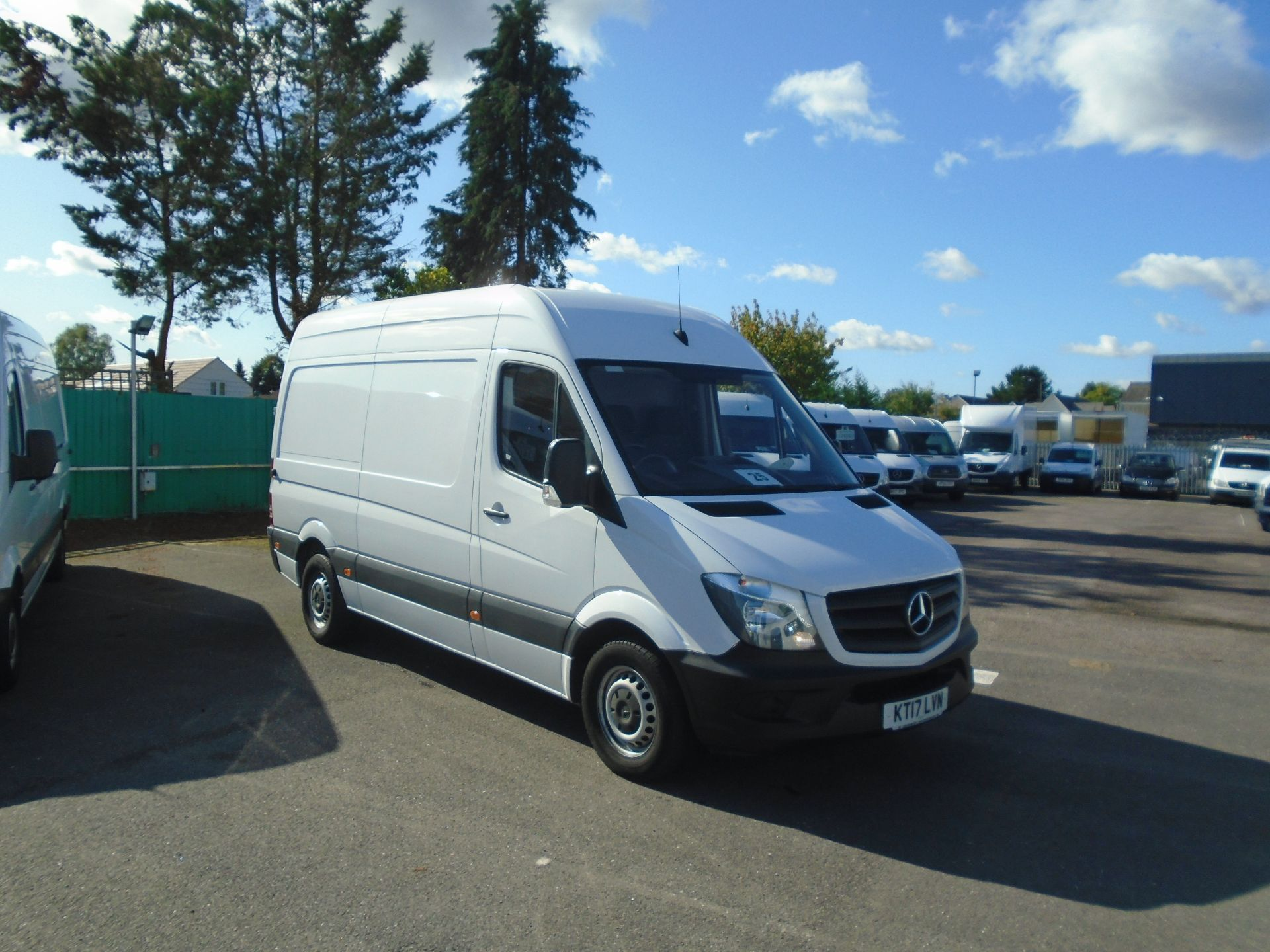 2017 Mercedes-Benz Sprinter 3.5T High Roof Van (KT17LVN)