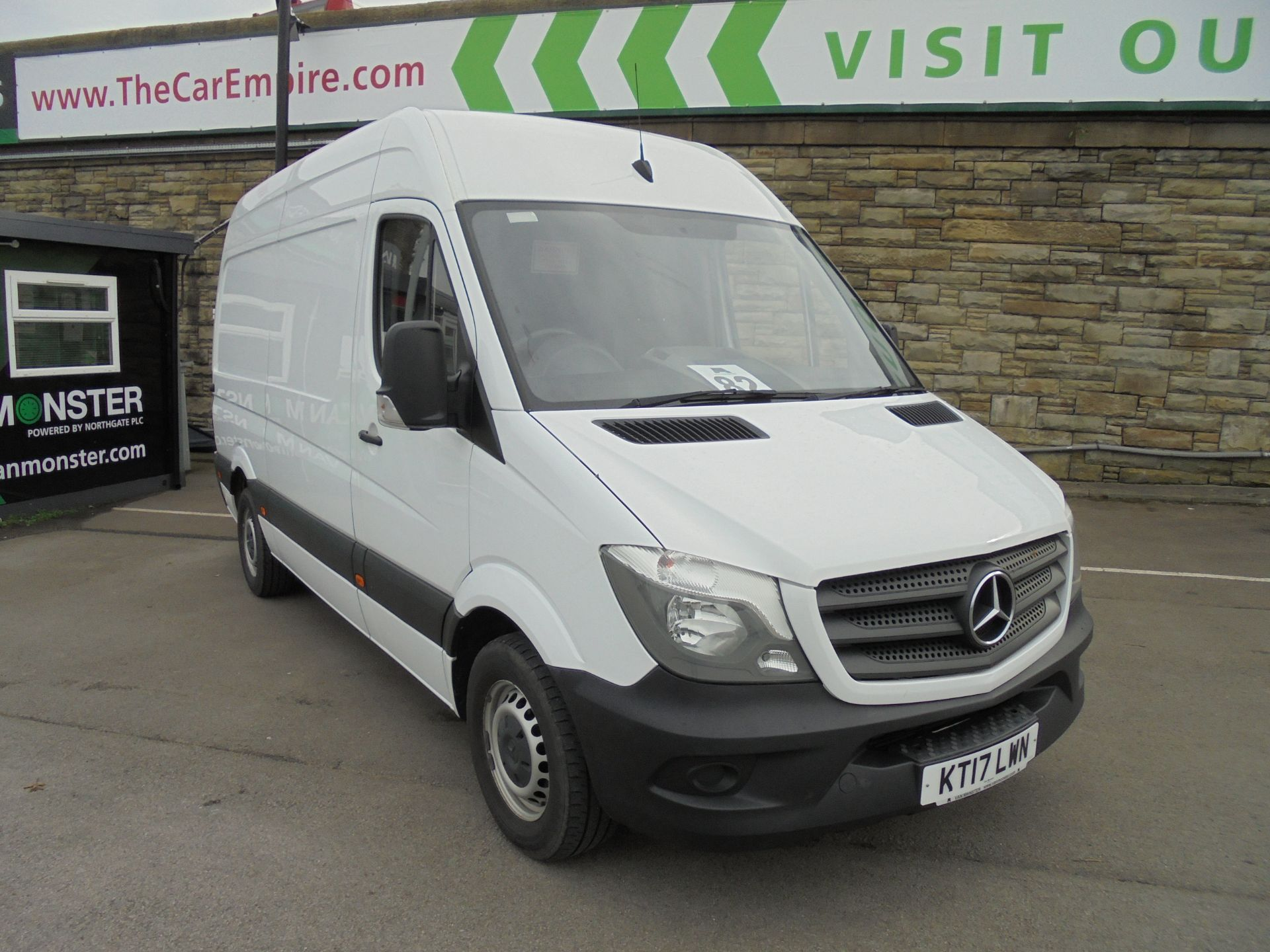 2017 Mercedes-Benz Sprinter 3.5T High Roof Van MWB (KT17LWN)