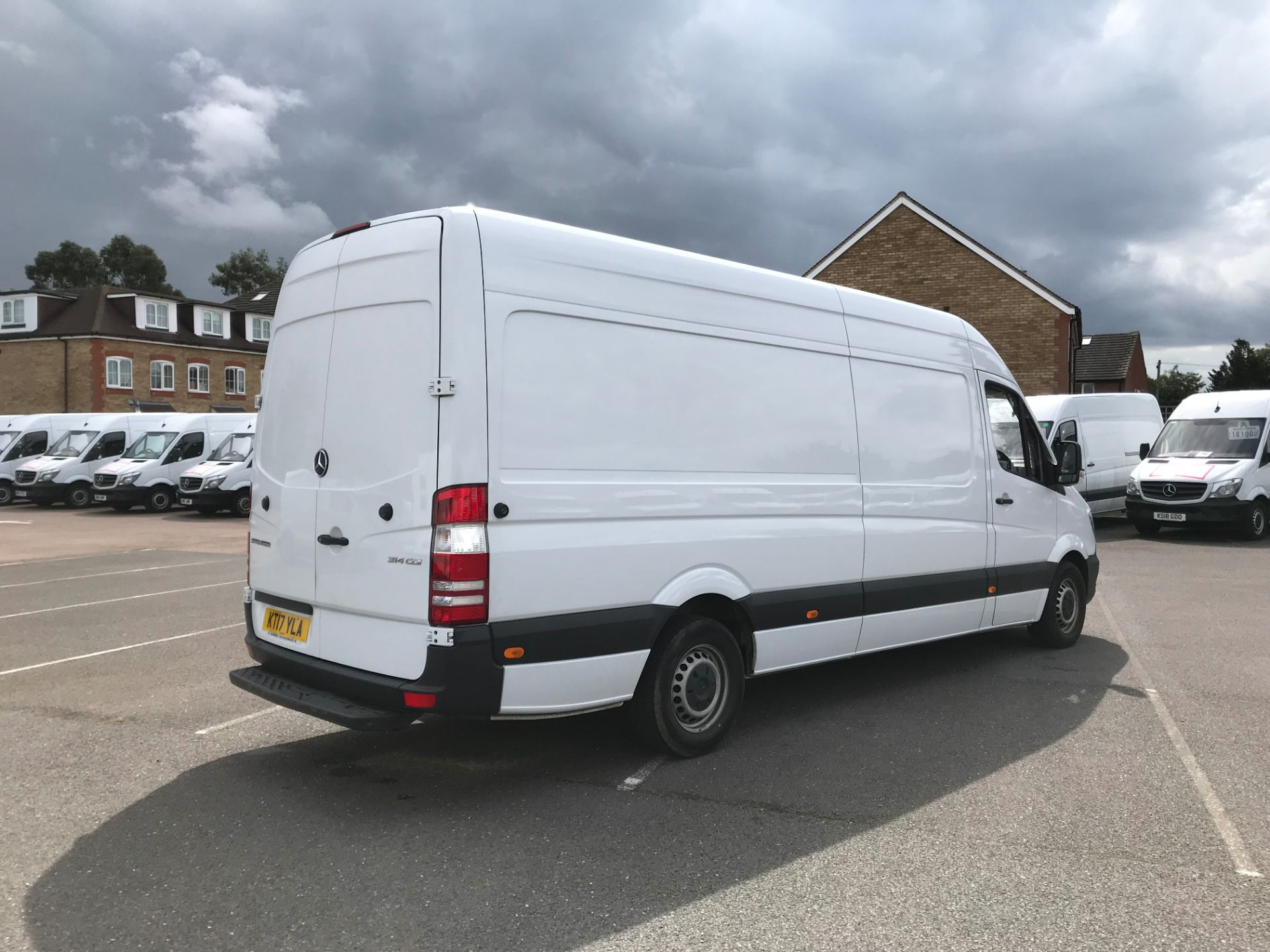 2017 Mercedes-Benz Sprinter  314 LWB H/R VAN EURO 6 *CONDITION REFLECTED IN PRICE* (KT17YLA) Image 4
