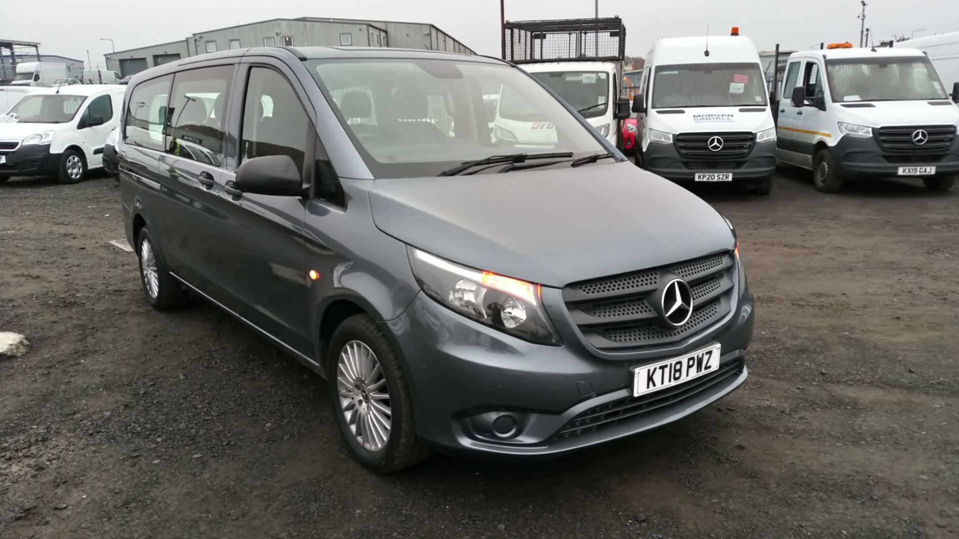 2018 Mercedes-Benz Vito 119 Bluetec Tourer Select (KT18PWZ)