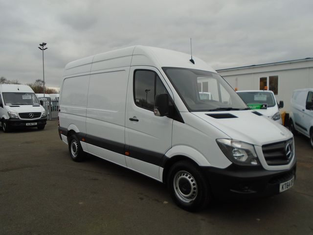 2015 Mercedes-Benz Sprinter 313 CDI MWB 3.5t High Roof Van (KT64OFH)