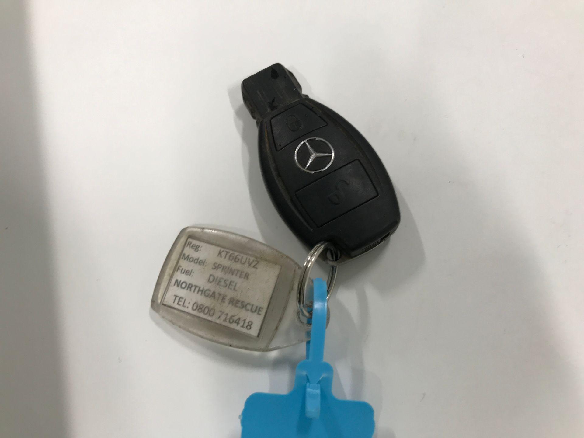 2017 Mercedes-Benz Sprinter 314CDI 13FT DROPSIDE 140PS EURO 6 (KT66UVZ) Image 21