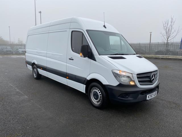 2018 Mercedes-Benz Sprinter 3.5T High Roof Van (KT67XJE)