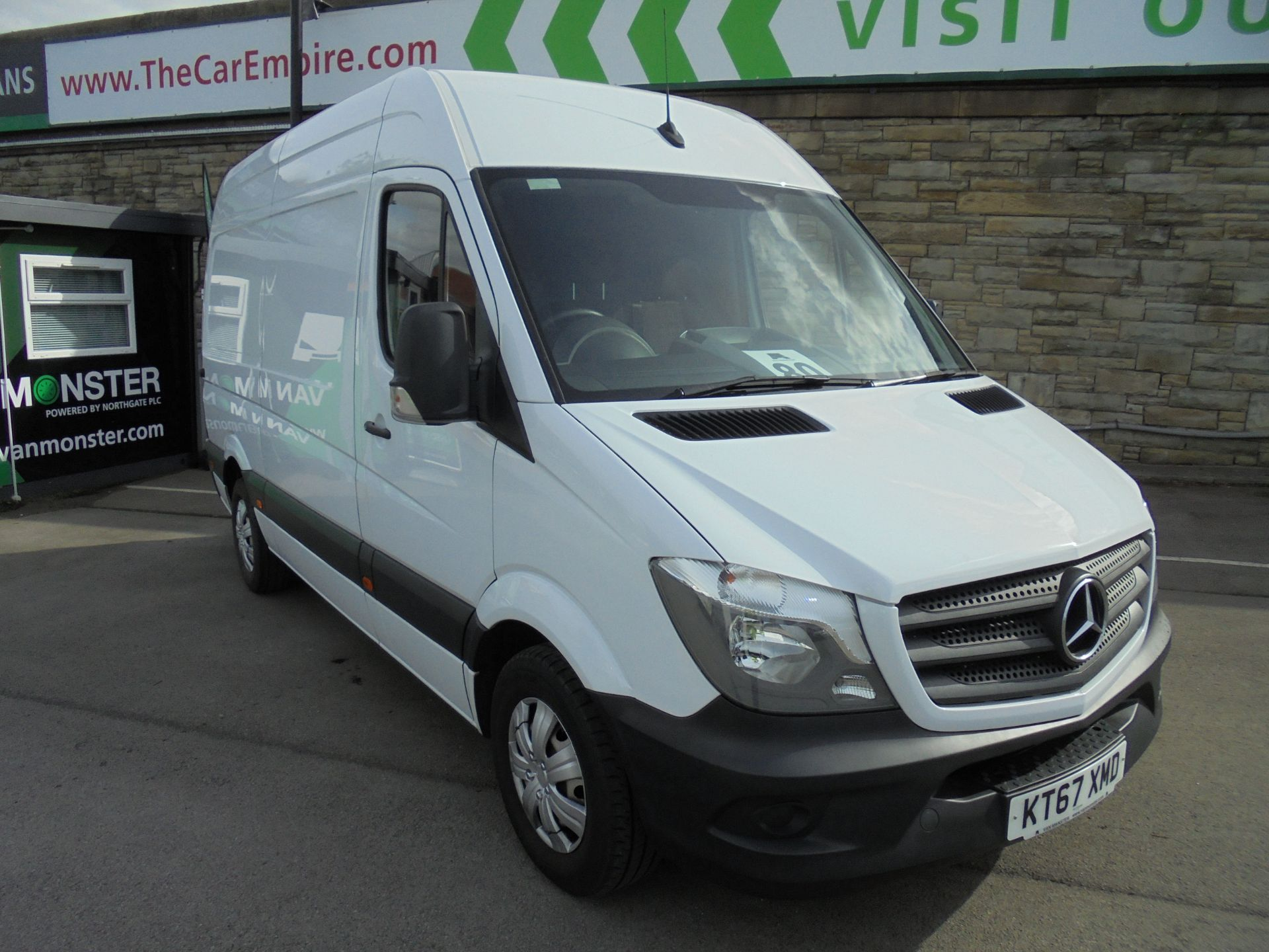 2018 Mercedes-Benz Sprinter 3.5T High Roof Van MWB (KT67XMD)