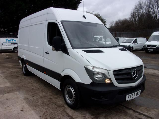 2018 Mercedes-Benz Sprinter 314 MWB High Roof Van (KT67XMX)