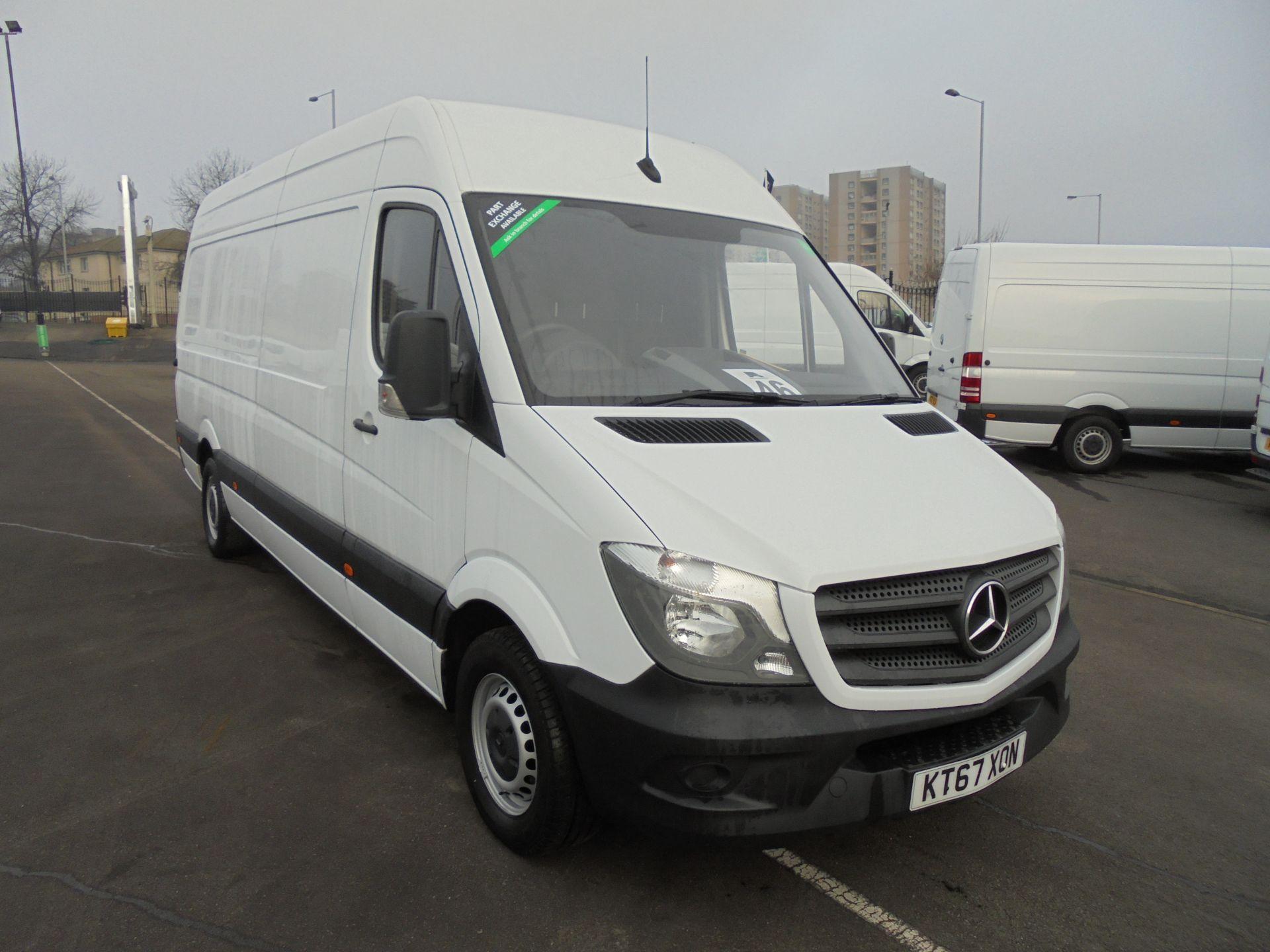 2018 Mercedes-Benz Sprinter 314 CDI 3.5T High Roof Van (KT67XON)