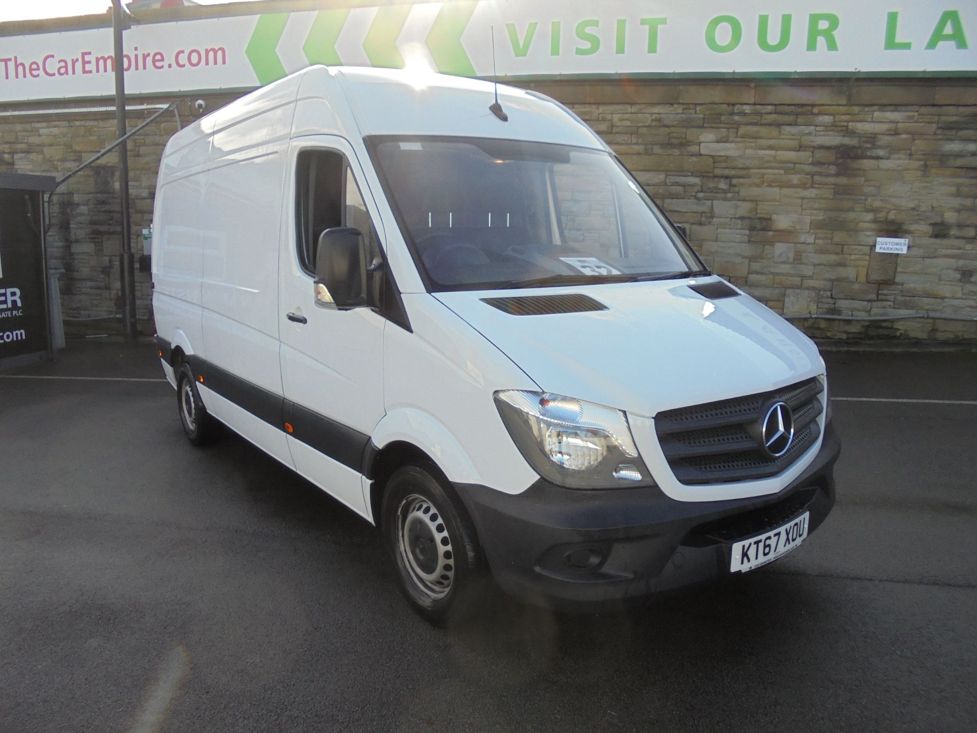 2018 Mercedes-Benz Sprinter 3.5T High Roof Van (KT67XOU)