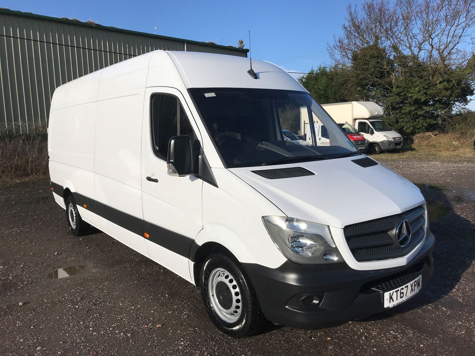 2018 Mercedes-Benz Sprinter 3.5T High Roof Van (KT67XPM)