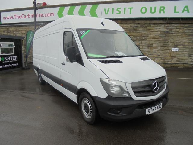 2018 Mercedes-Benz Sprinter 3.5T High Roof Van (KT67XRG)