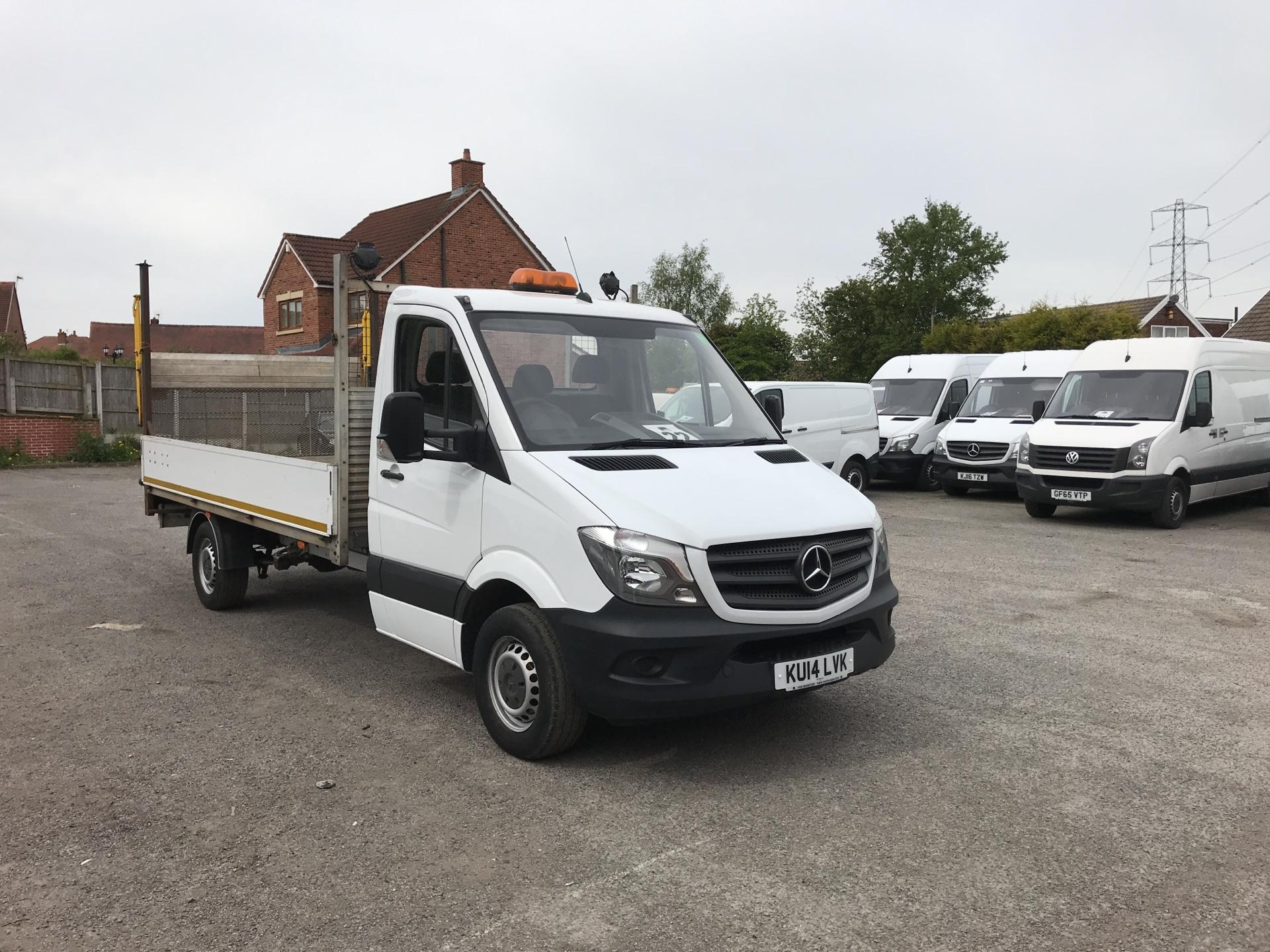 2014 Mercedes-Benz Sprinter  313 LWB DROP SIDE EURO 5 (KU14LVK)