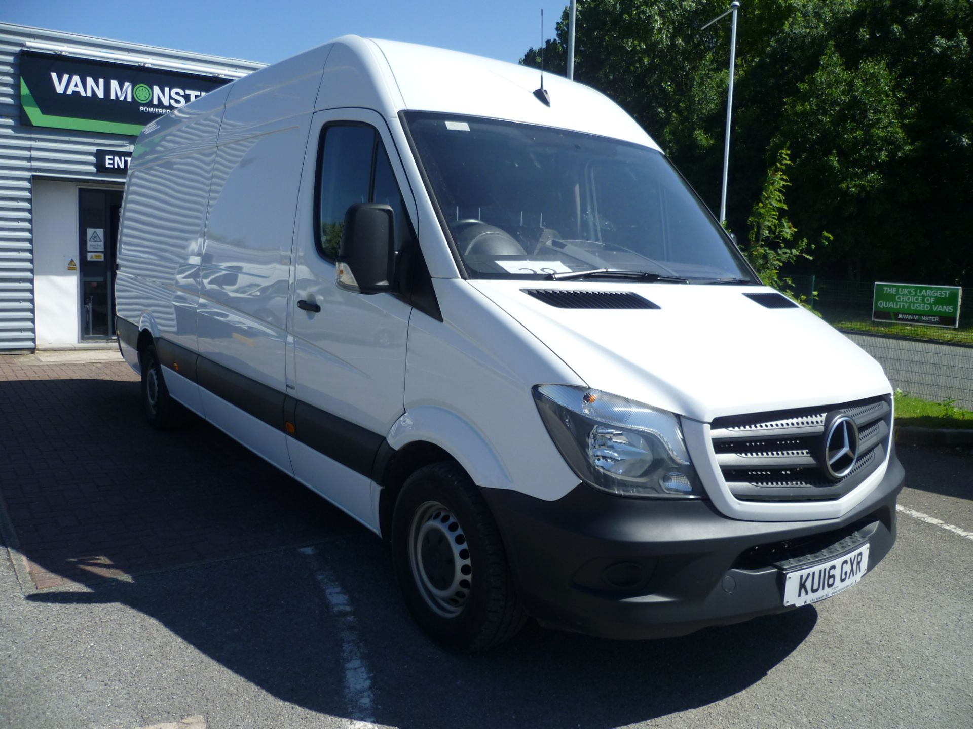 2016 Mercedes-Benz Sprinter  314CDI LWB HIGH ROOF 140PS EURO 6 (KU16GXR)