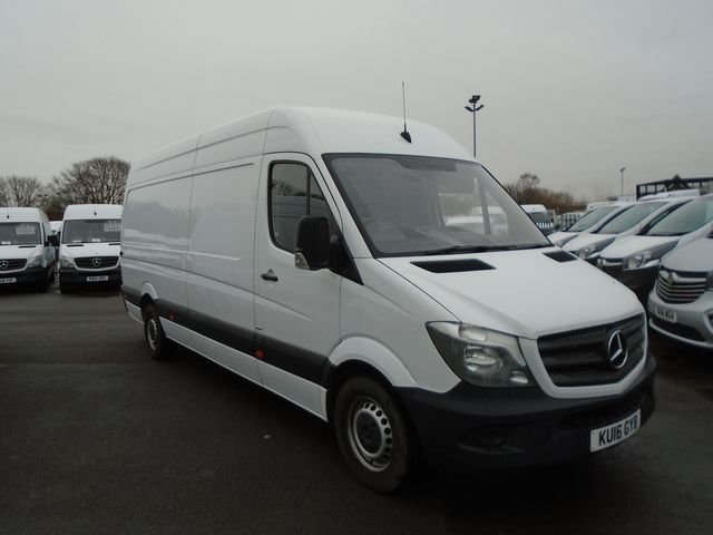 2016 Mercedes-Benz Sprinter 313 CDI LWB 3.5t High Roof Van (KU16GYB)