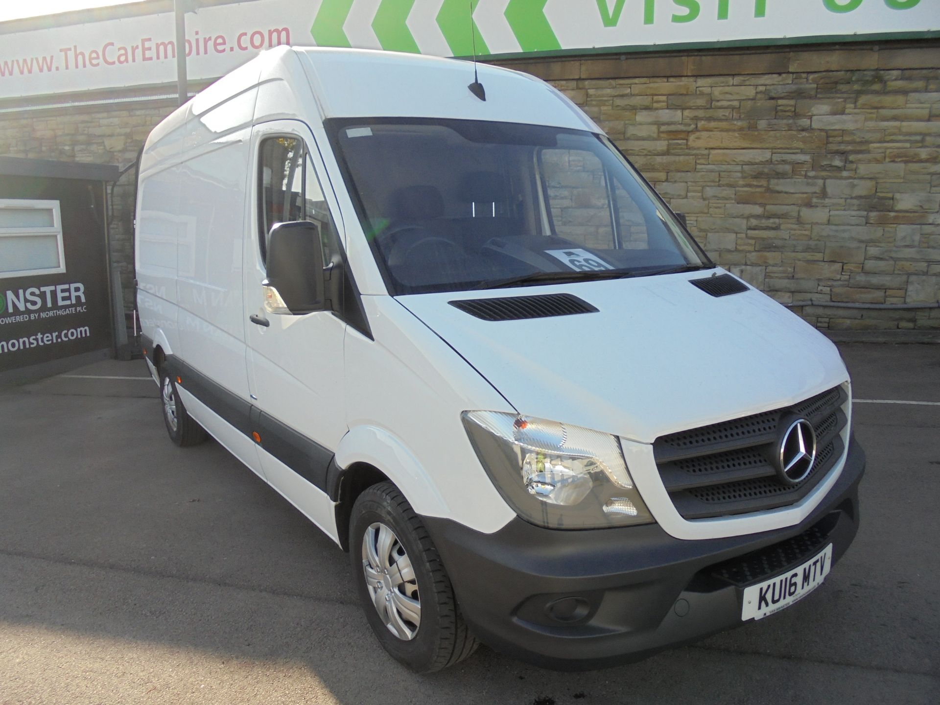 2016 Mercedes-Benz Sprinter 3.5T High Roof Van (KU16MTV)