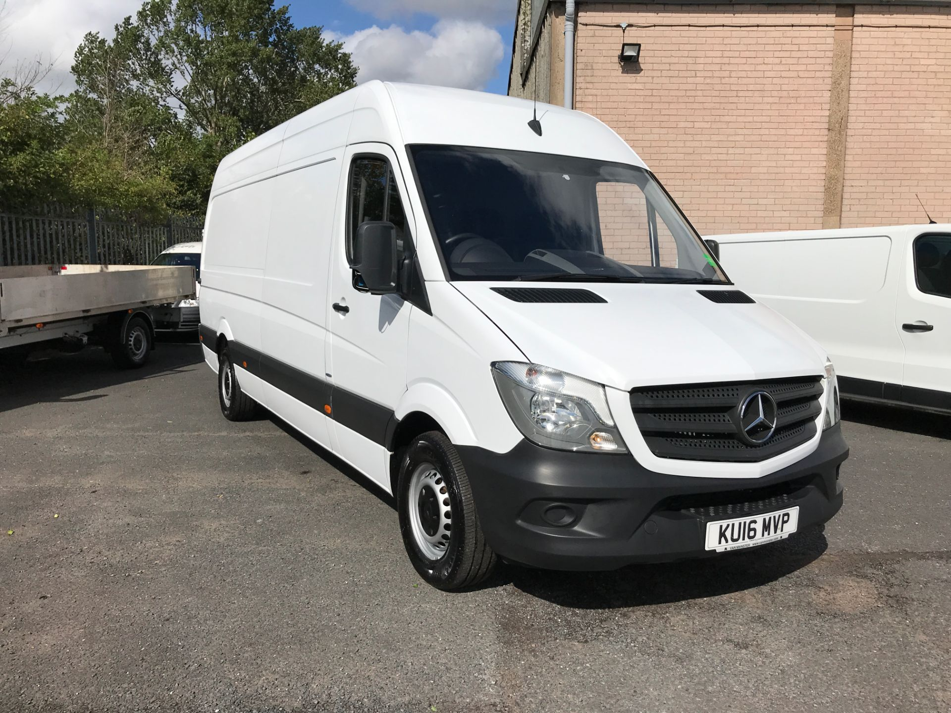 2016 Mercedes-Benz Sprinter 314CDI LWB HIGH ROOF 140PS EURO 6 (KU16MVP)