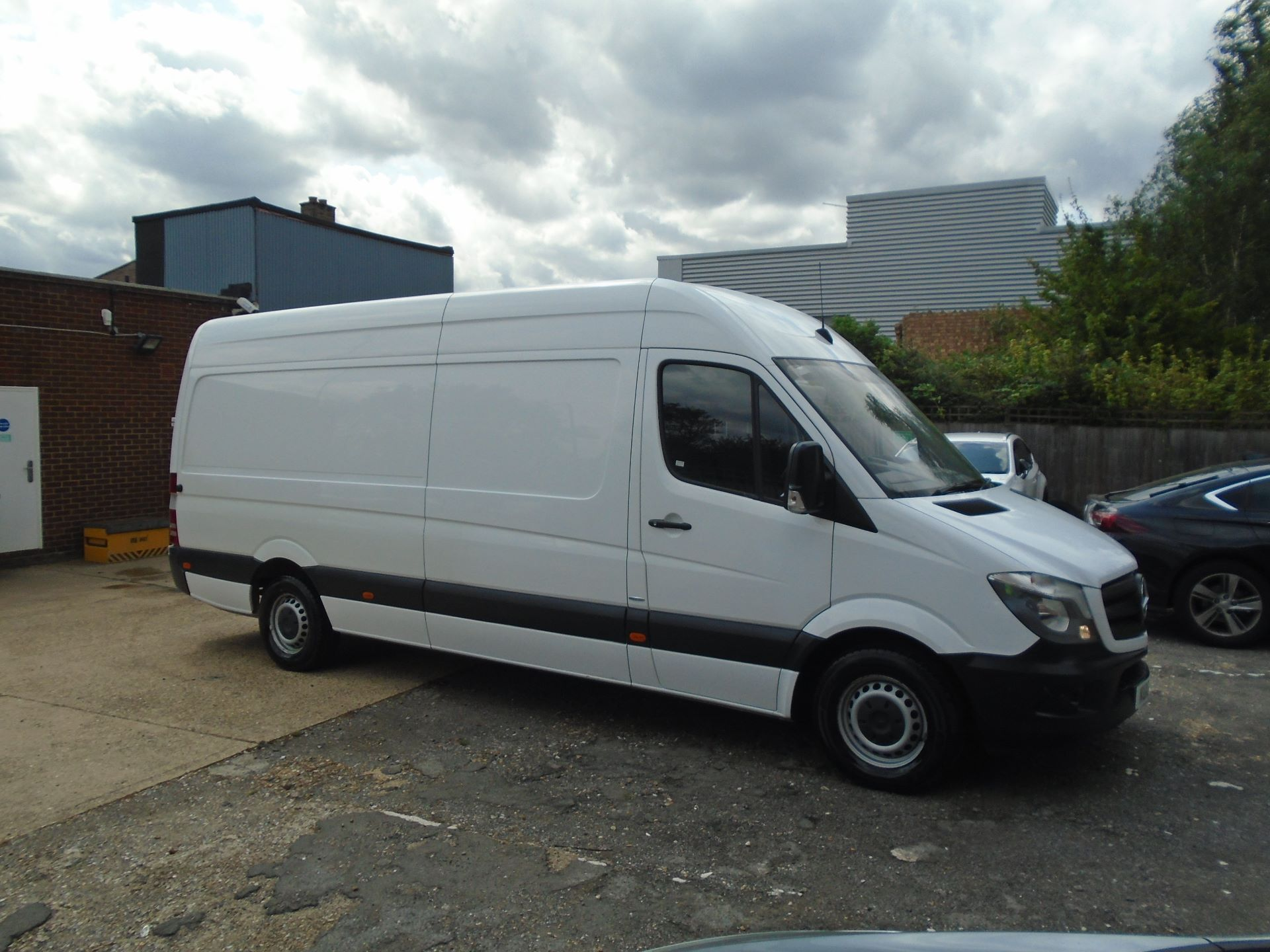 2016 Mercedes-Benz Sprinter 3.5T High Roof Van EURO 5 (KU16MXH) Thumbnail 1
