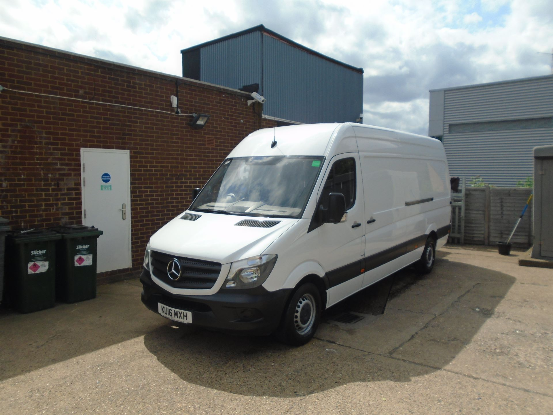 2016 Mercedes-Benz Sprinter 3.5T High Roof Van EURO 5 (KU16MXH) Thumbnail 7