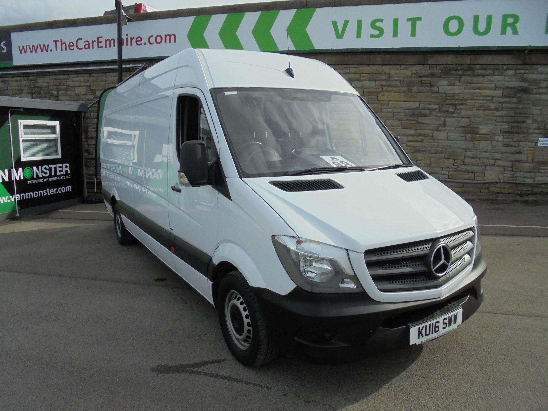 2016 Mercedes-Benz Sprinter 3.5T High Roof Van (KU16SWW)