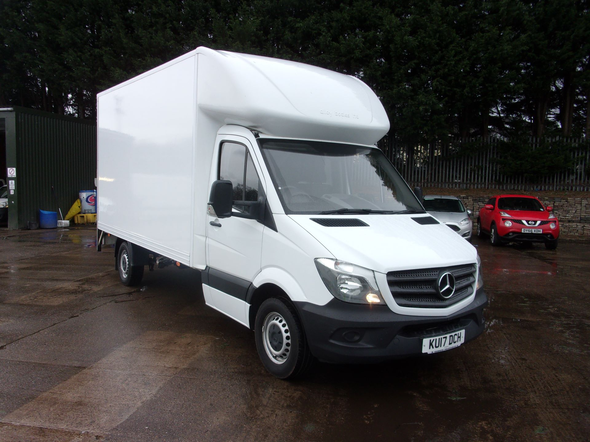 2017 Mercedes-Benz Sprinter 314 CDI LWB LUTON WITH TAIL LIFT EURO 6 (KU17DCH)