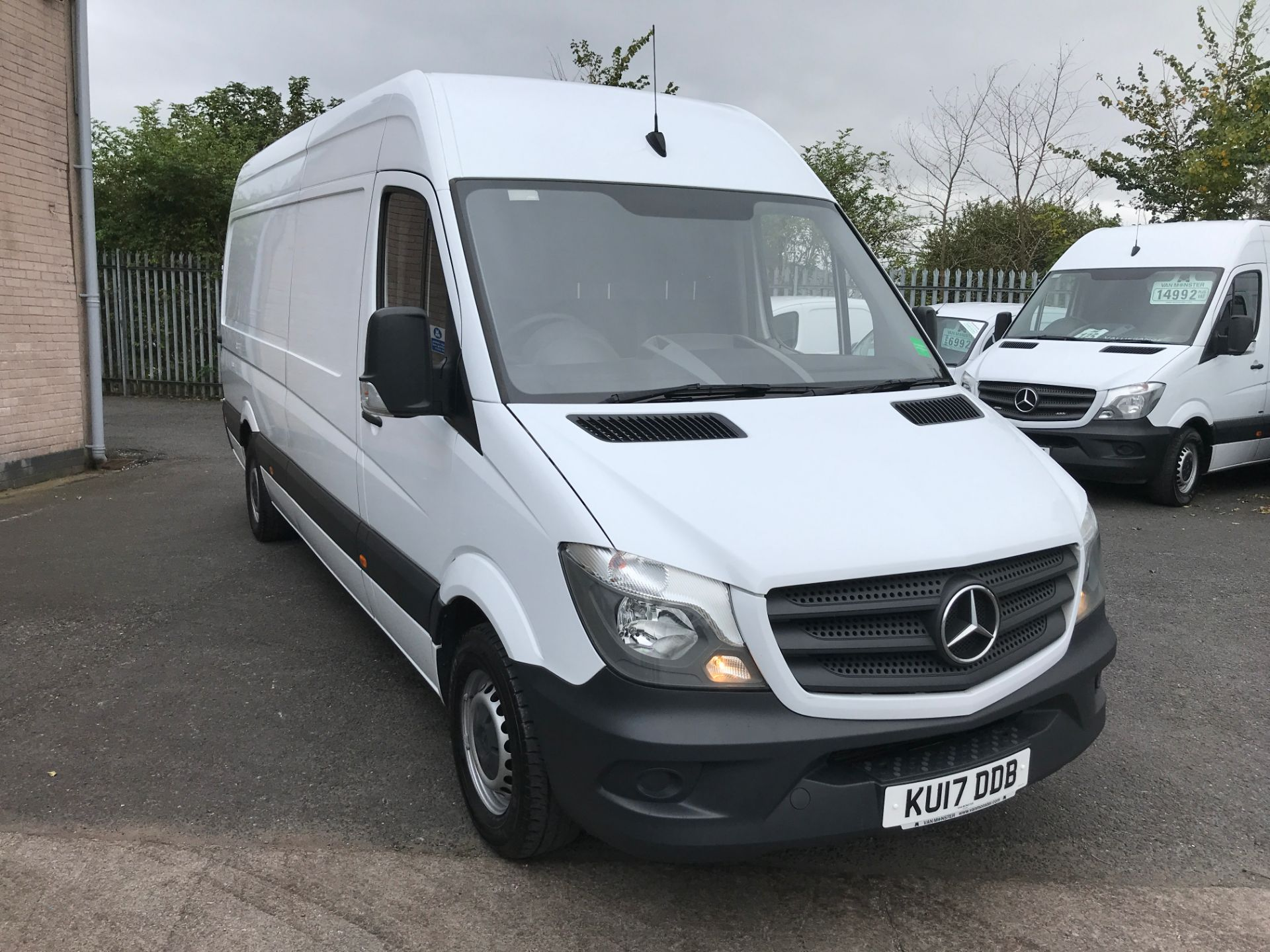2017 Mercedes-Benz Sprinter 314CDI LWB HIGH ROOF 140PS EURO 6 (KU17DDB)
