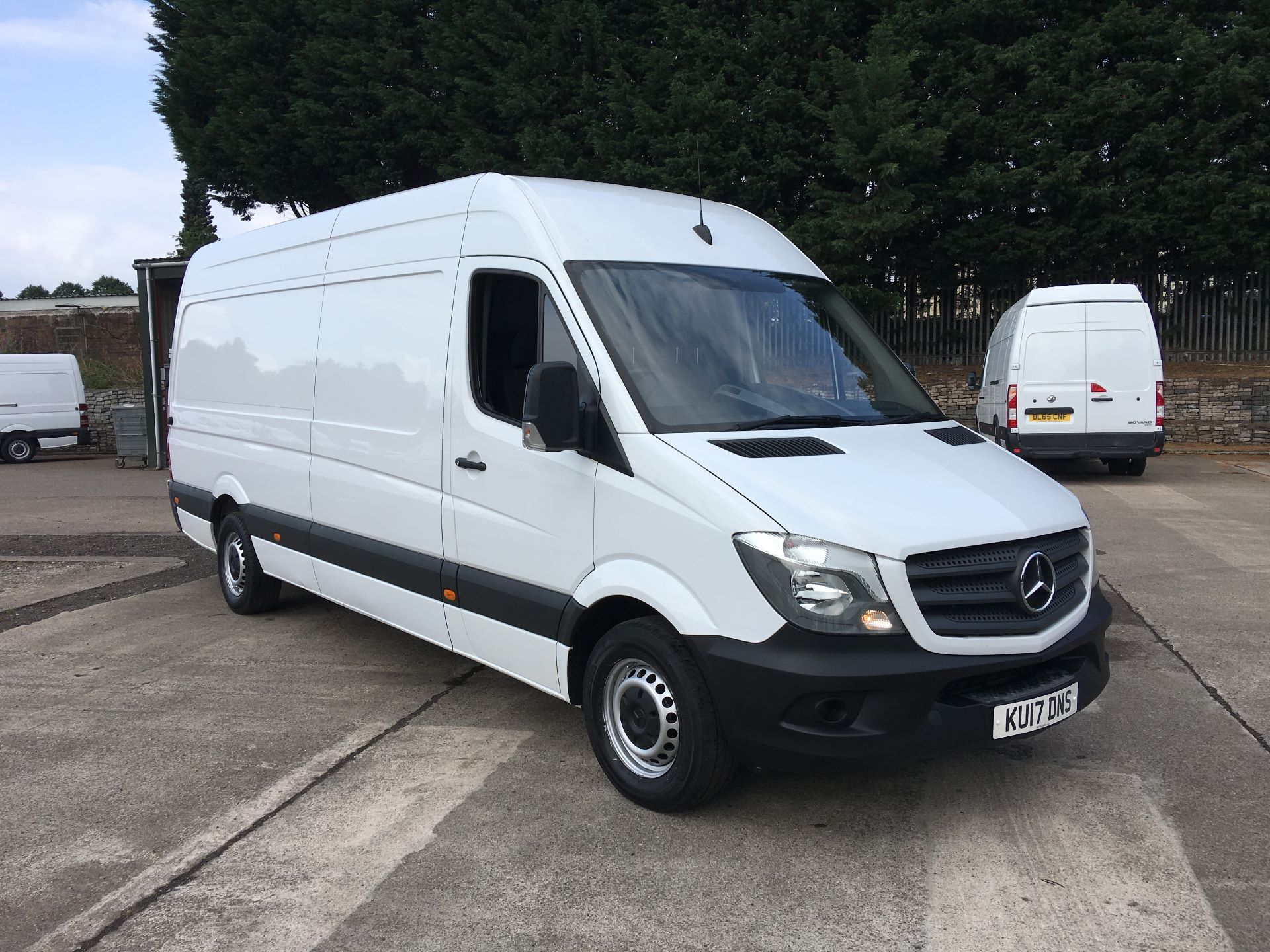 2017 Mercedes-Benz Sprinter 314 CDI LWB HIGH ROOF VAN EURO 6 (KU17DNS)
