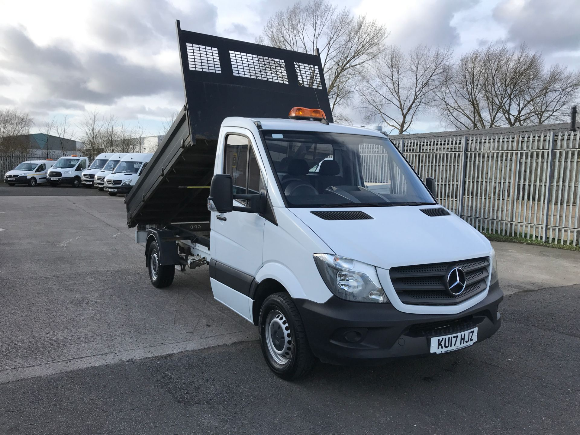 2017 Mercedes-Benz Sprinter 314CDI SINGLE CAB TIPPER 140PS EURO 6 (KU17HJZ)