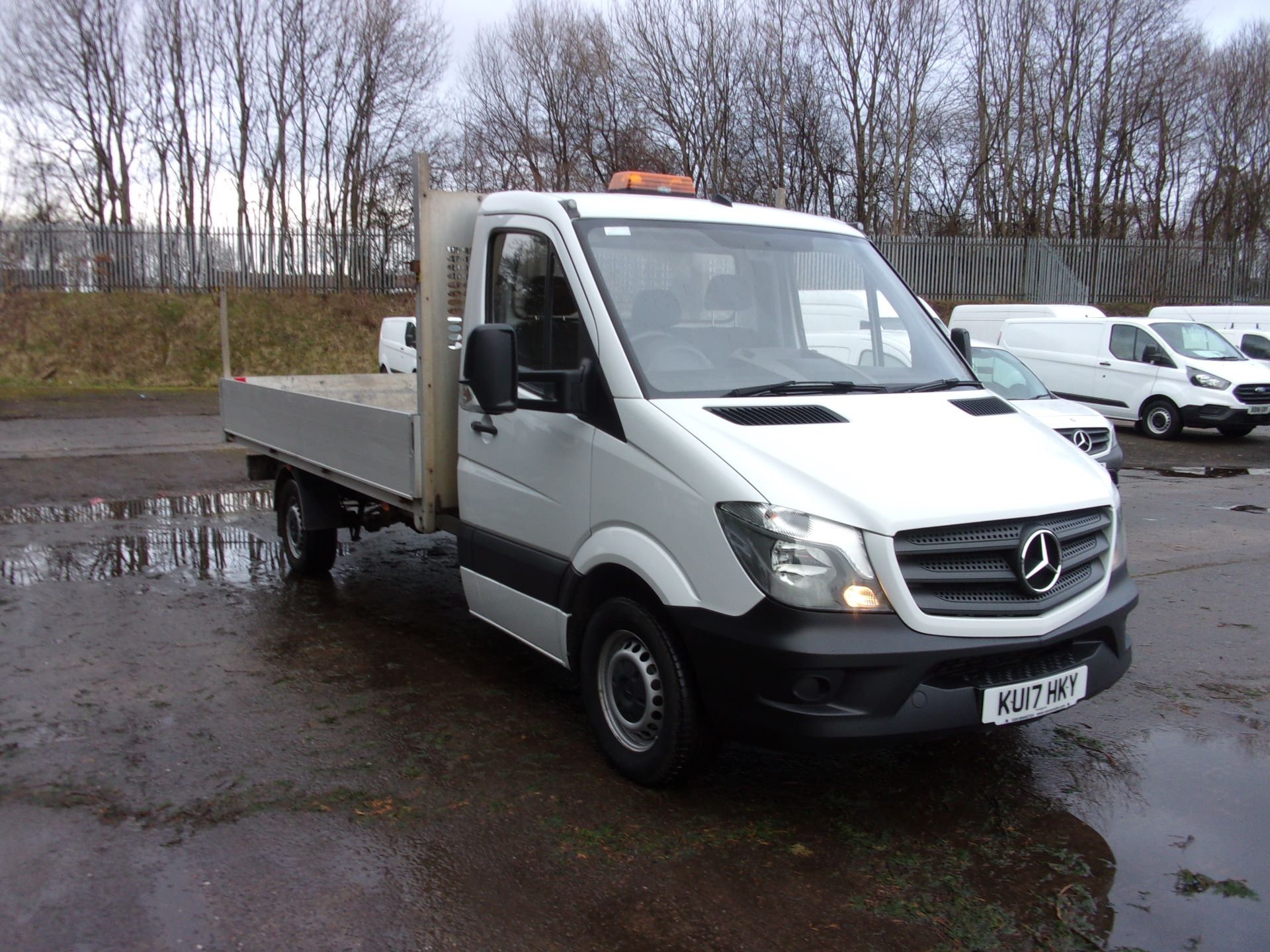 2017 Mercedes-Benz Sprinter 314 CDI LWB SINGLE CAB DROPSIDE EURO 6 (KU17HKY)